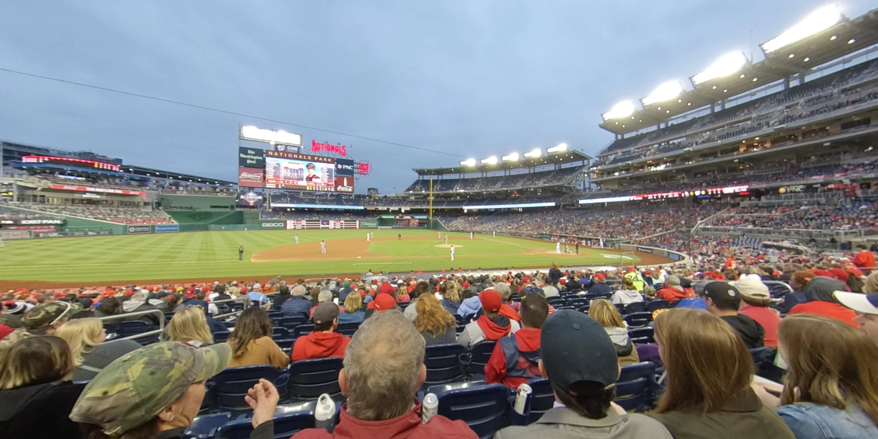 360° Photo From Nationals Park Section 115