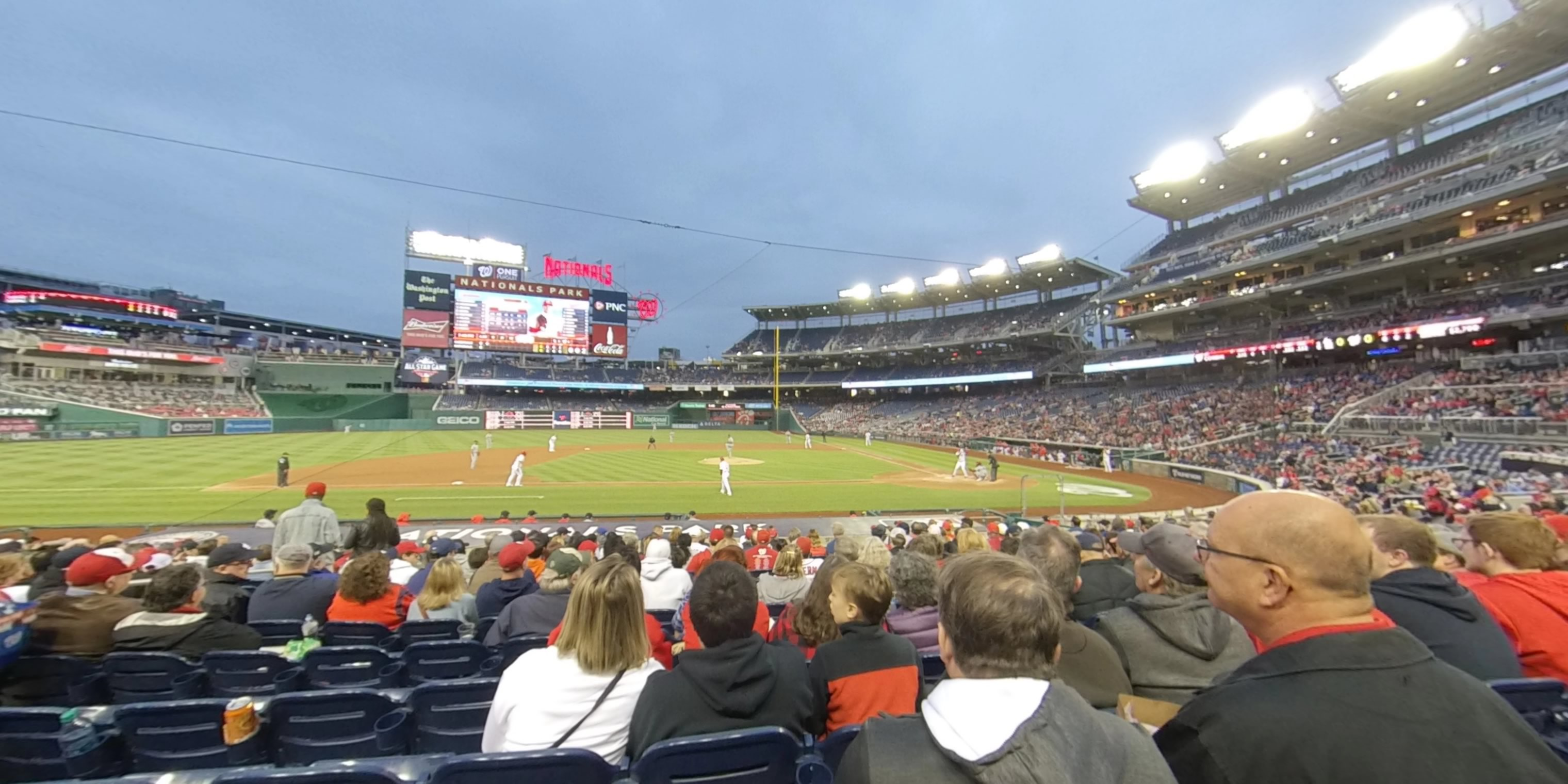 360° Photo From Nationals Park Section 117