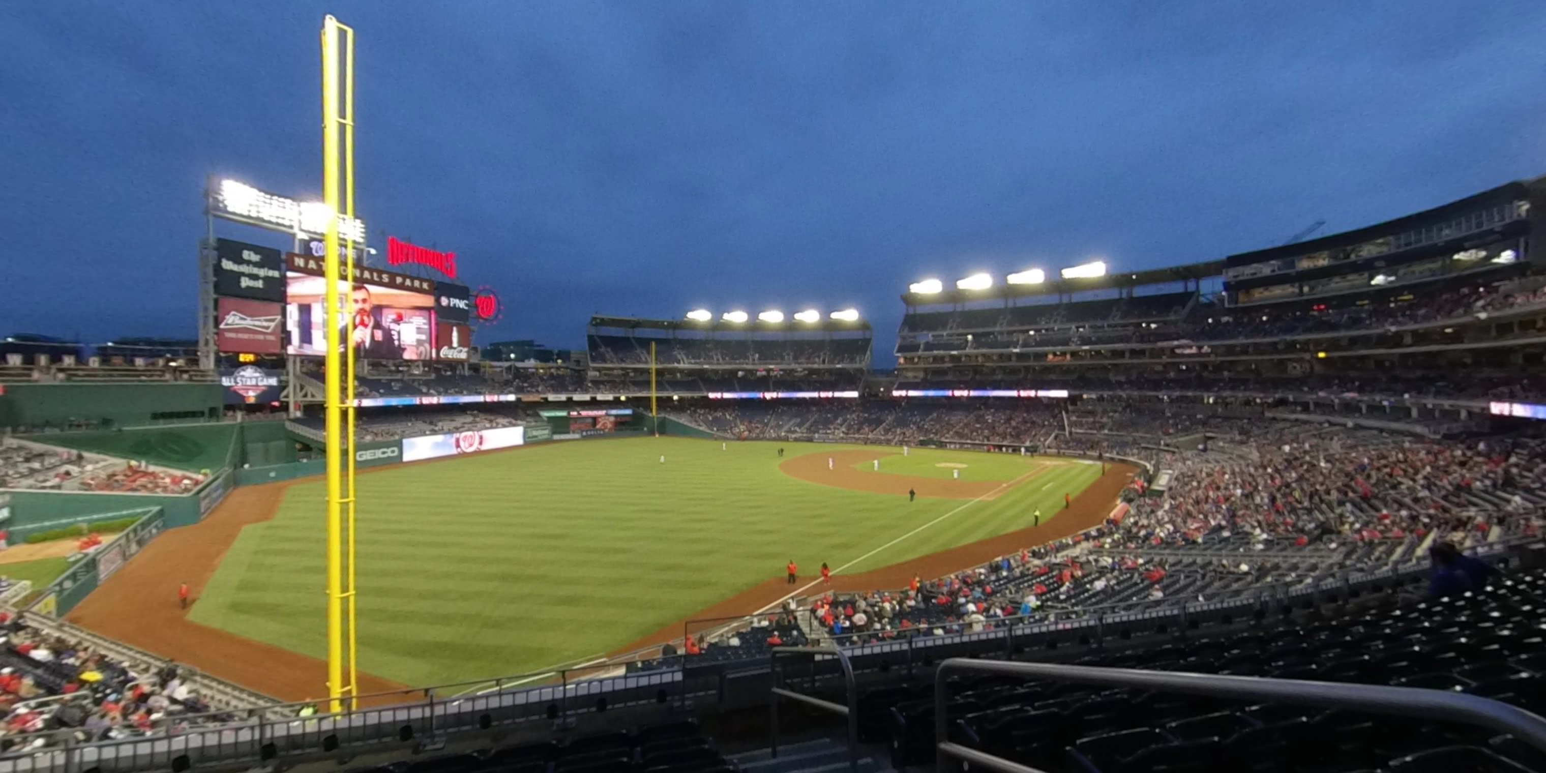 360° Photo From Nationals Park Section 201