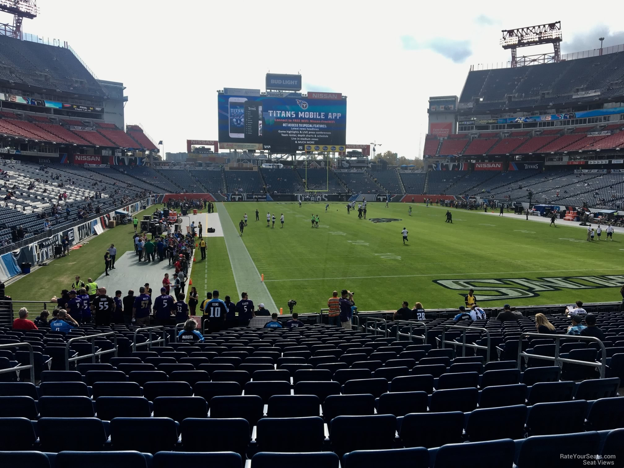 Section 103 At Nissan Stadium Tennessee Titans Rateyourseats Com