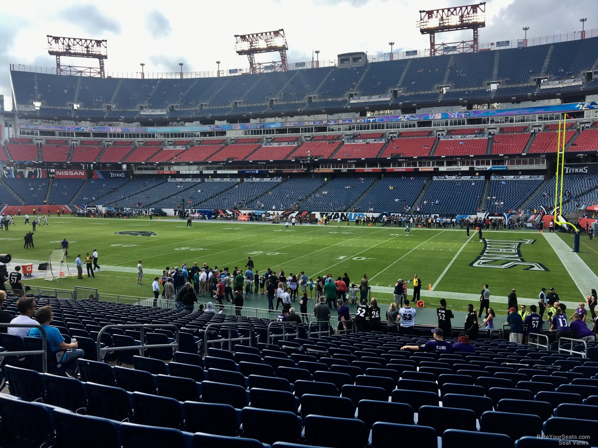 Section 108 At Nissan Stadium Tennessee Titans Rateyourseats Com