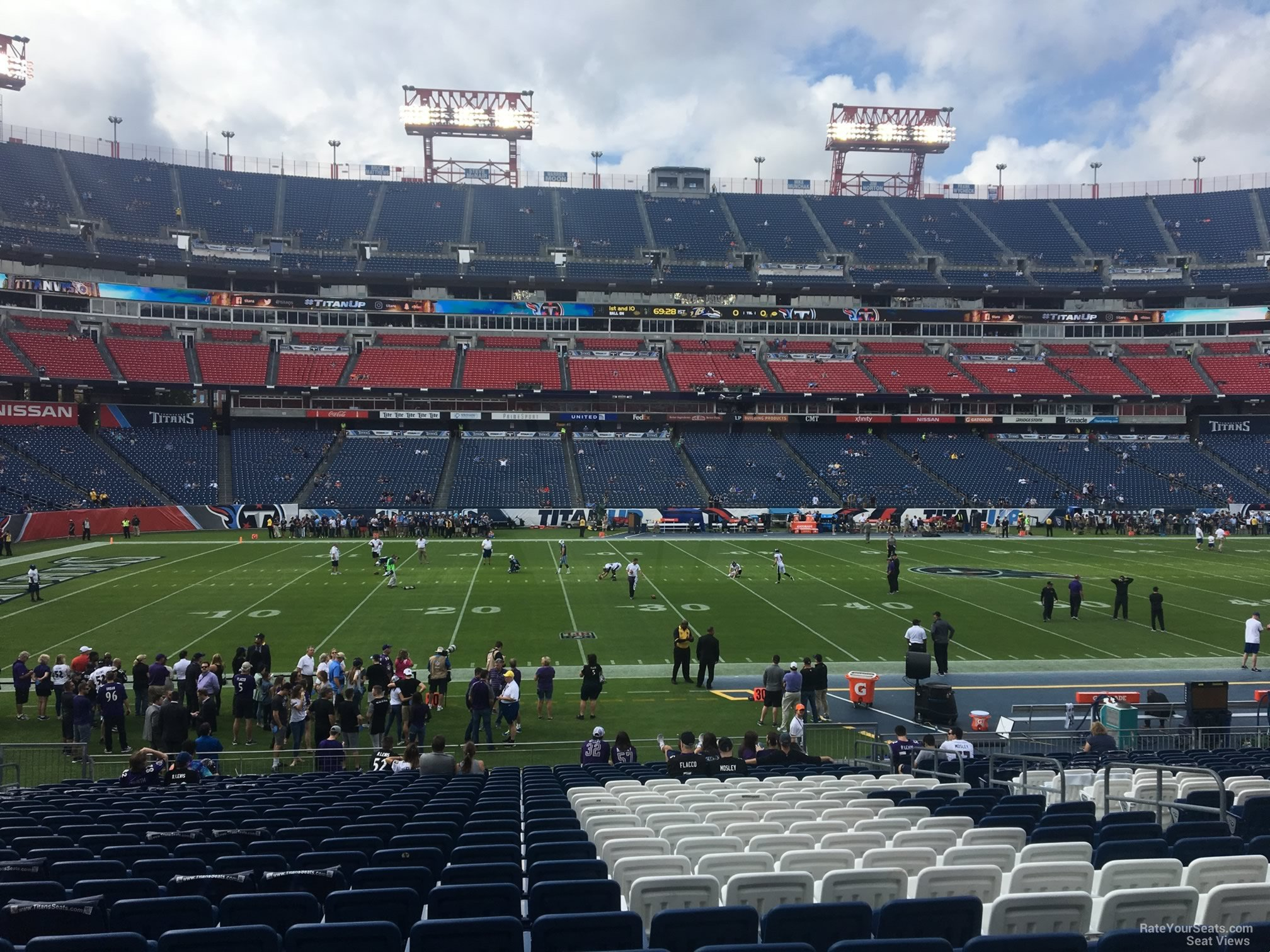 Section 114 At Nissan Stadium Tennessee Titans Rateyourseats Com
