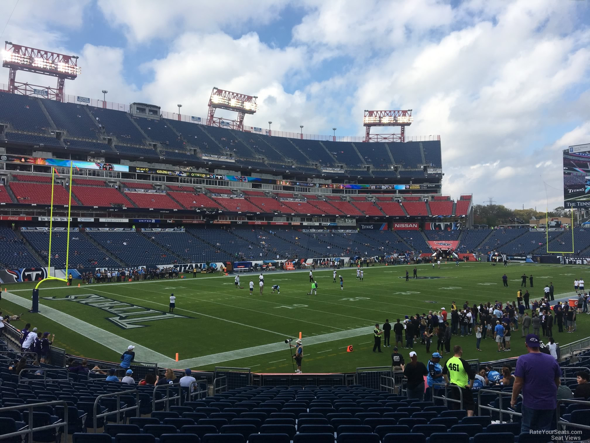 Section 118 At Nissan Stadium Tennessee Titans Rateyourseats Com