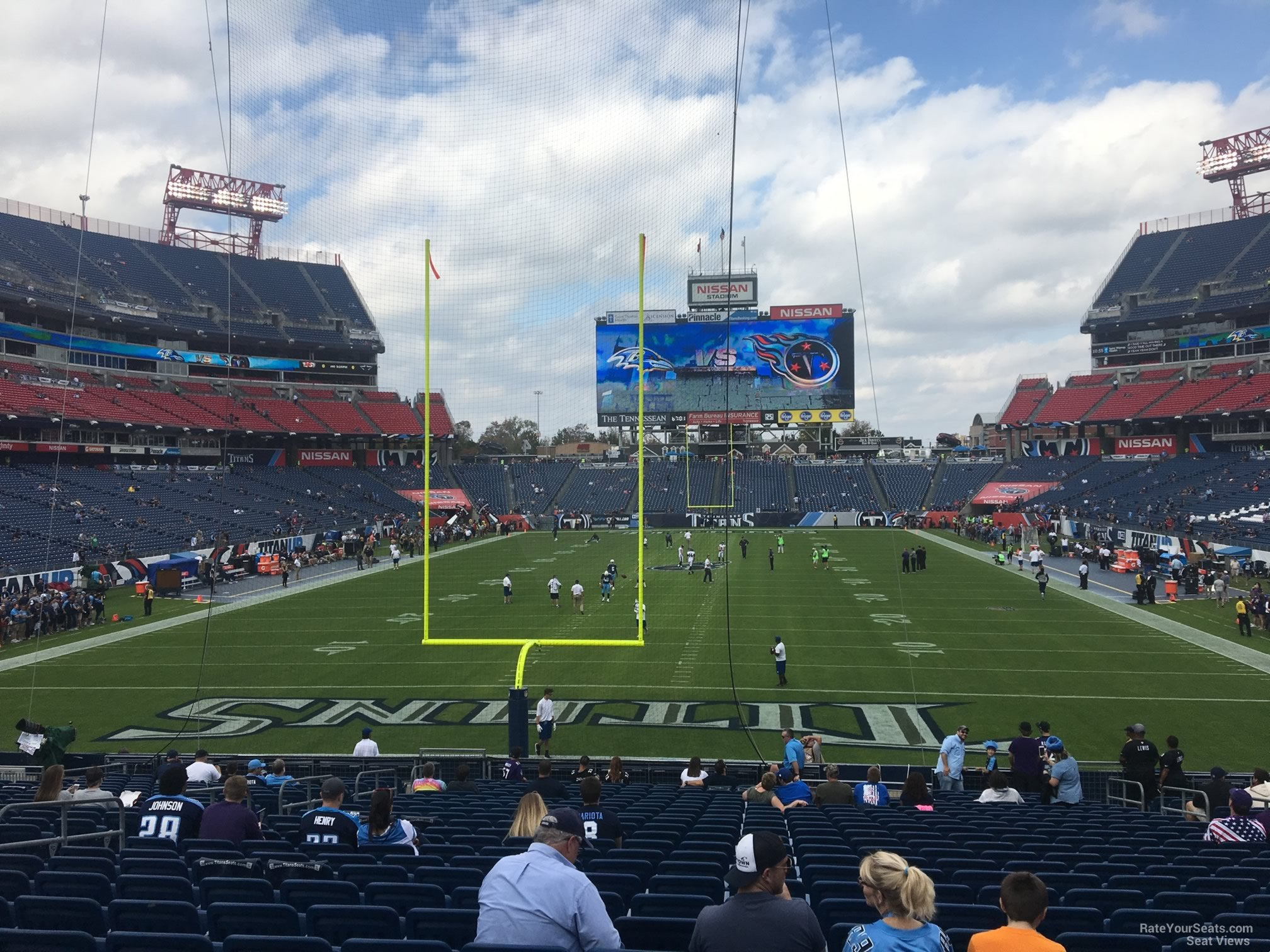 Section 123 At Nissan Stadium Tennessee Titans Rateyourseats Com