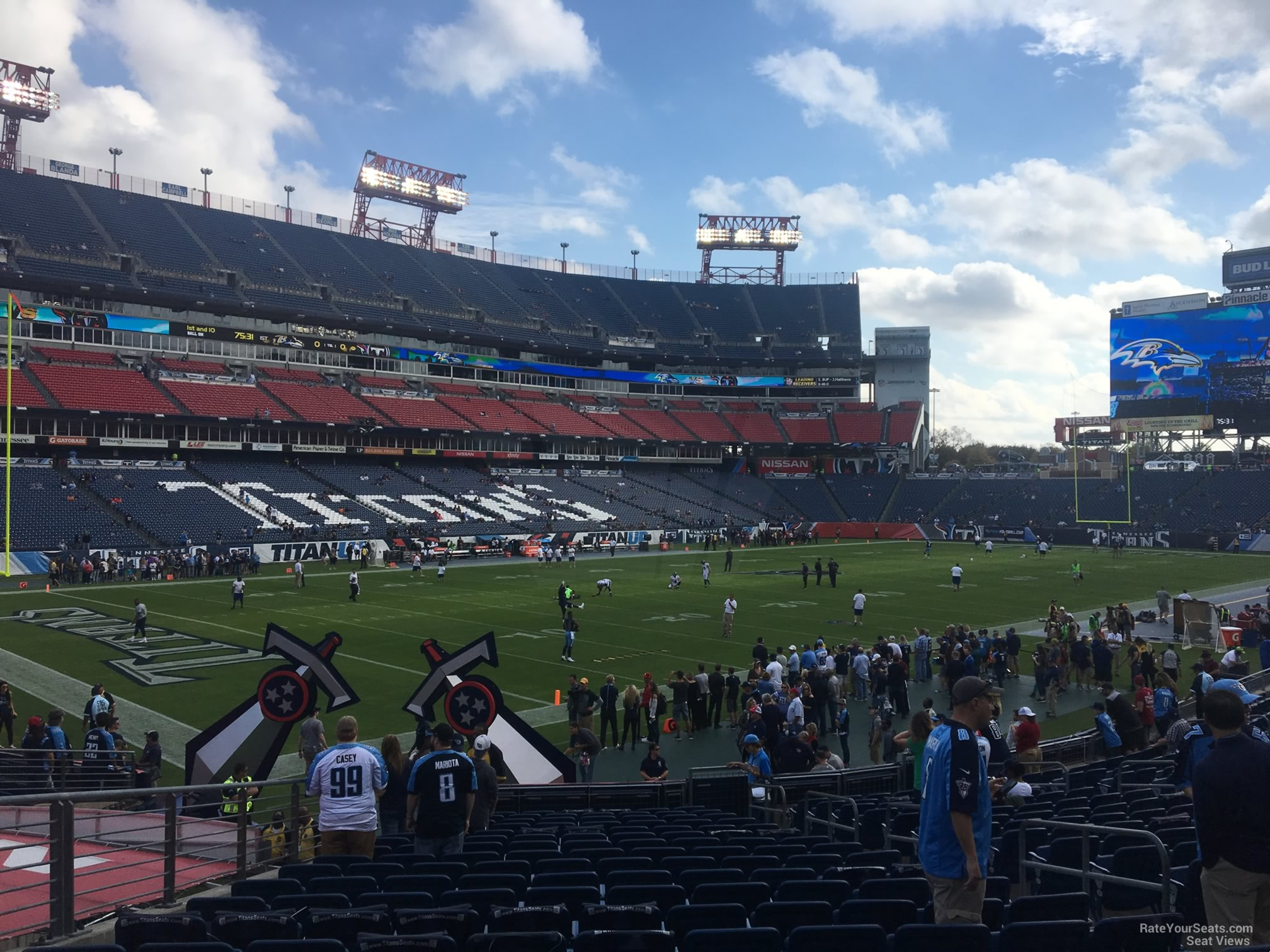 Section 141 At Nissan Stadium Tennessee Titans Rateyourseats Com