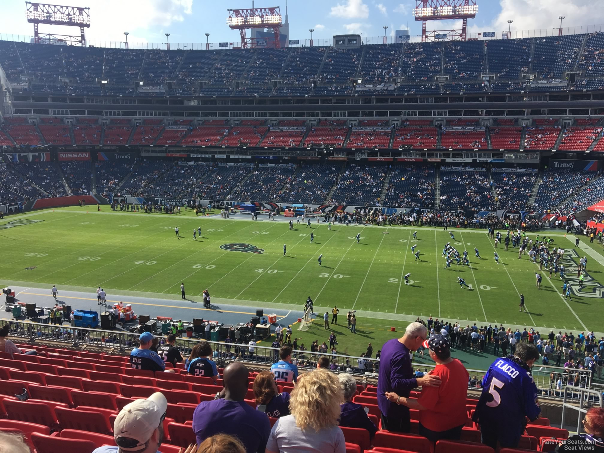 Section 210 At Nissan Stadium Tennessee Titans Rateyourseats Com
