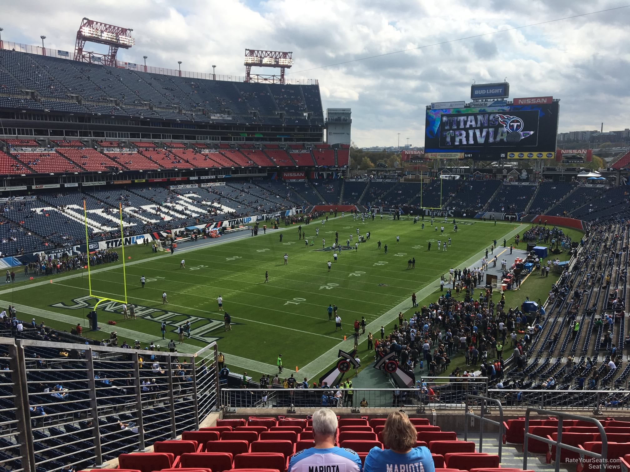 Section 225 At Nissan Stadium Tennessee Titans Rateyourseats Com