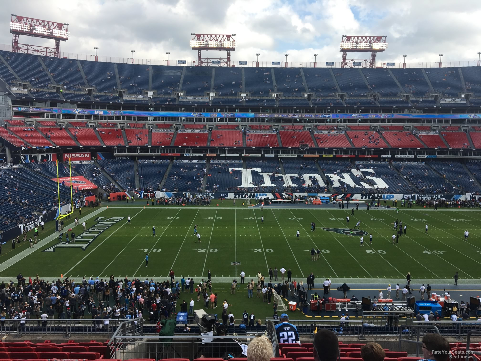 Section 233 At Nissan Stadium Tennessee Titans Rateyourseats Com