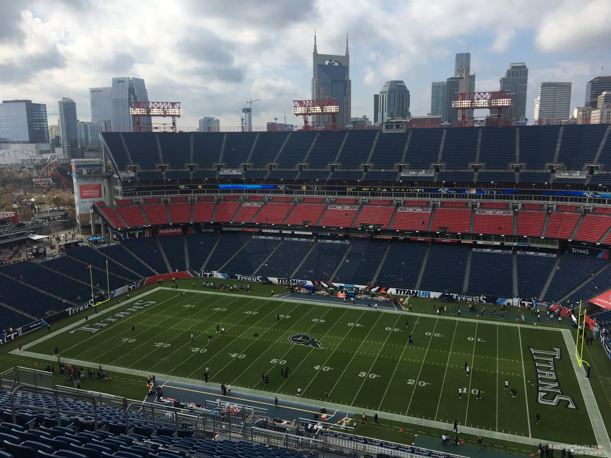 Section 309 At Nissan Stadium Tennessee Titans Rateyourseats Com