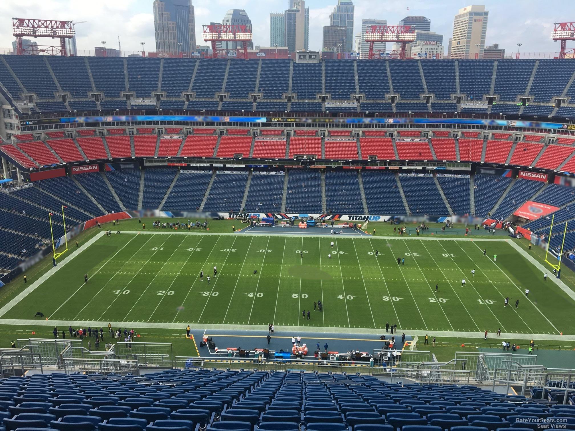 Nissan Stadium Section 312 Tennessee Titans Rateyourseatscom