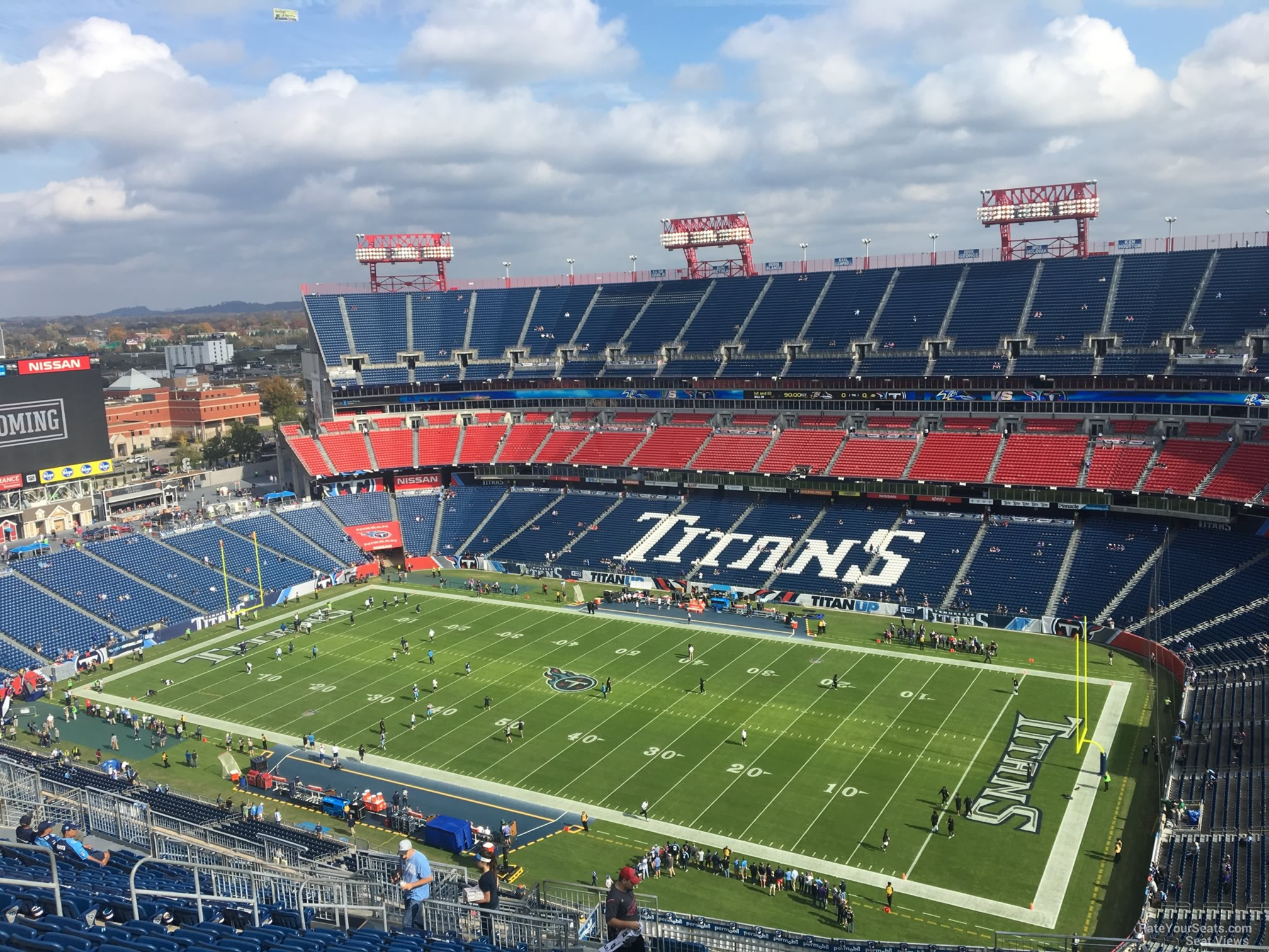 Section 330 At Nissan Stadium Tennessee Titans Rateyourseats Com