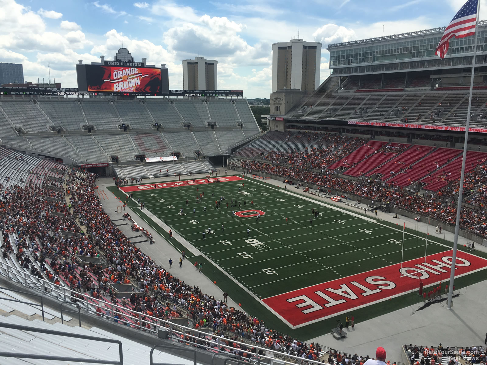 Ohio Stadium Section 10c Rateyourseatscom