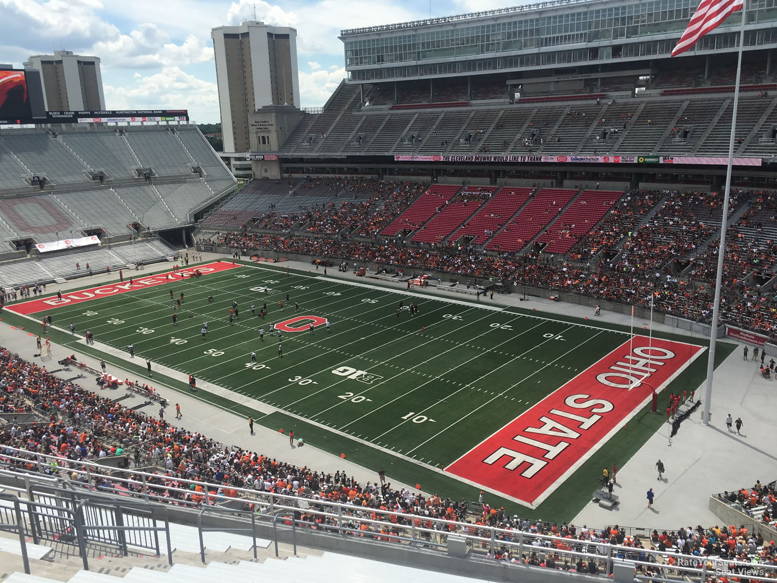 Ohio Stadium Section 12c Rateyourseatscom