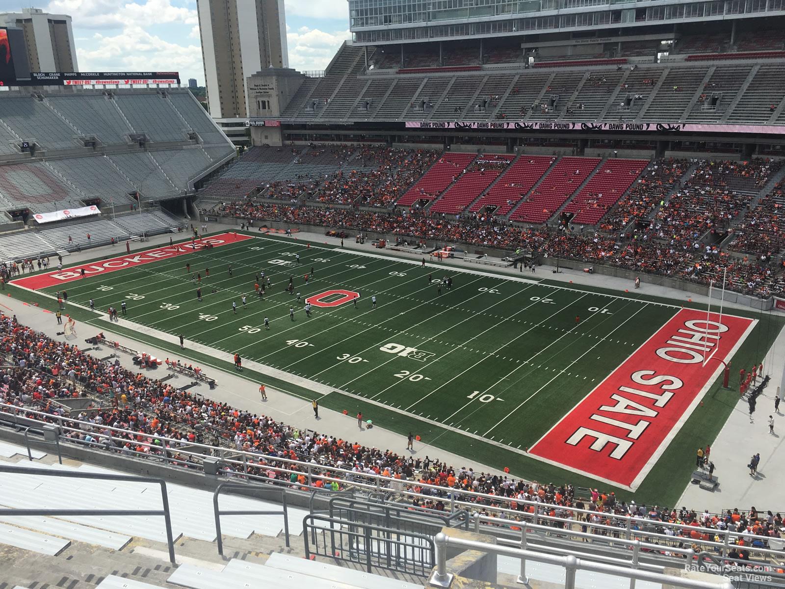Ohio Stadium Section 14c Rateyourseatscom