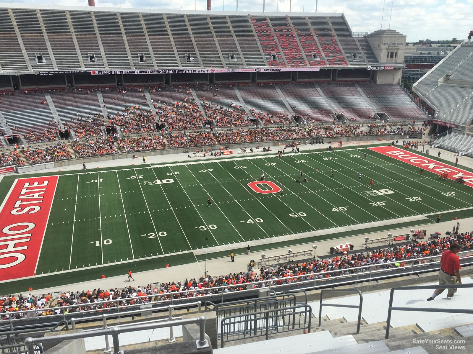 Ohio Stadium Section 15c Rateyourseatscom