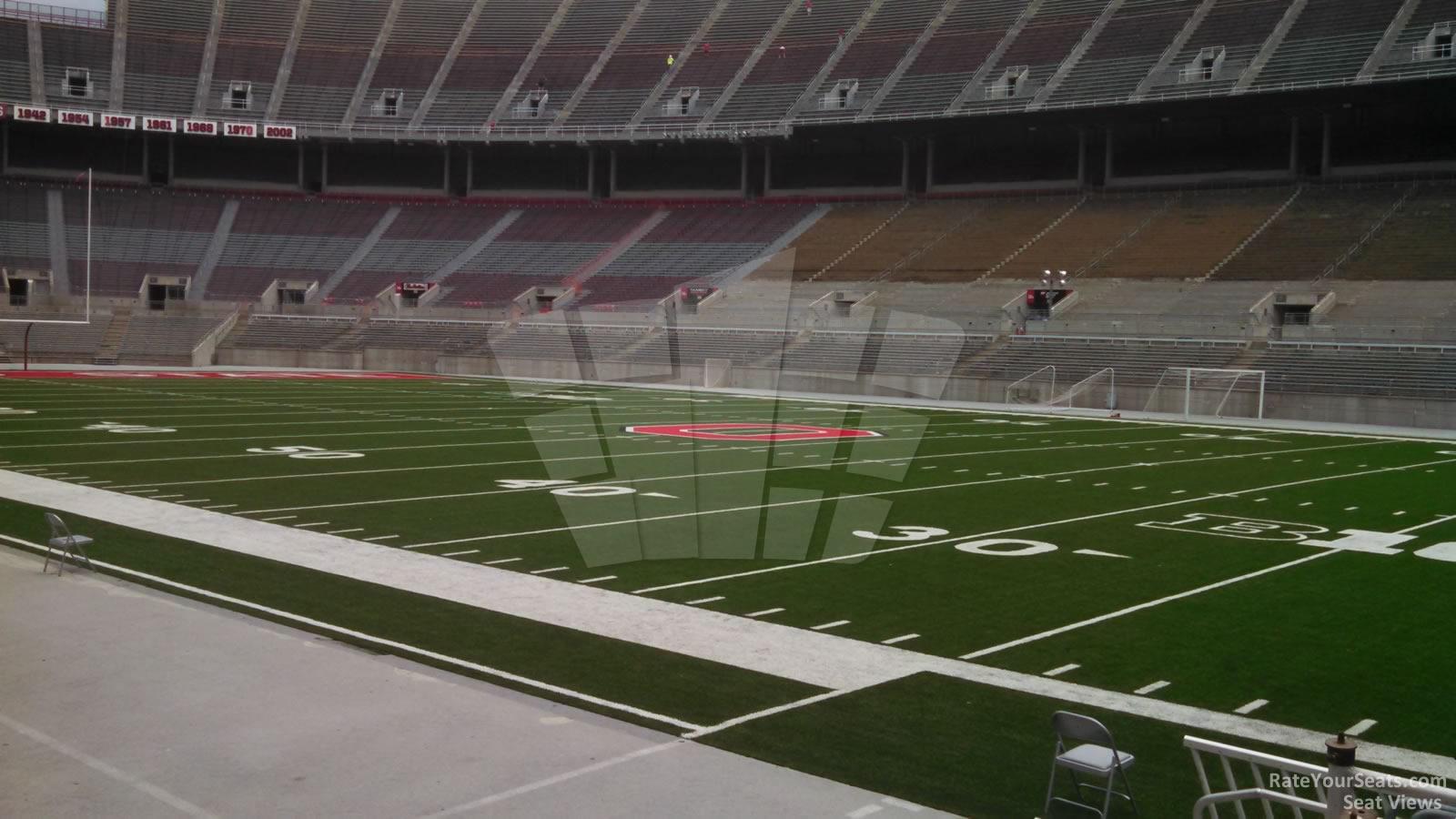 Ohio Stadium Section 23aa Rateyourseatscom