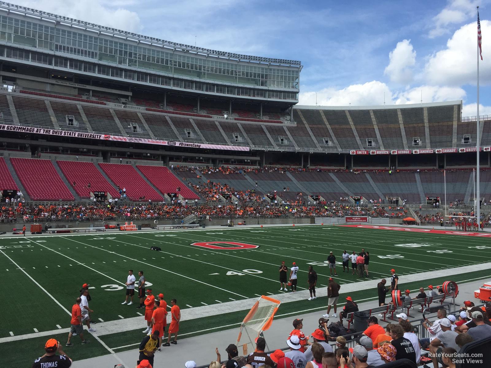 Ohio Stadium Section 24aa Rateyourseatscom