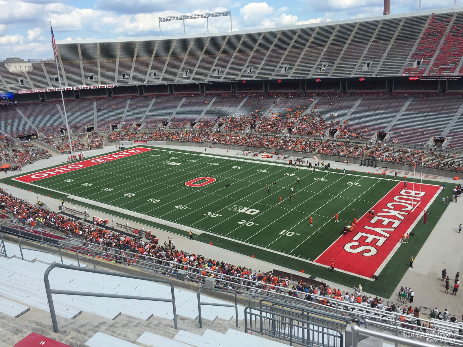 Ohio Stadium Section 27c Rateyourseatscom
