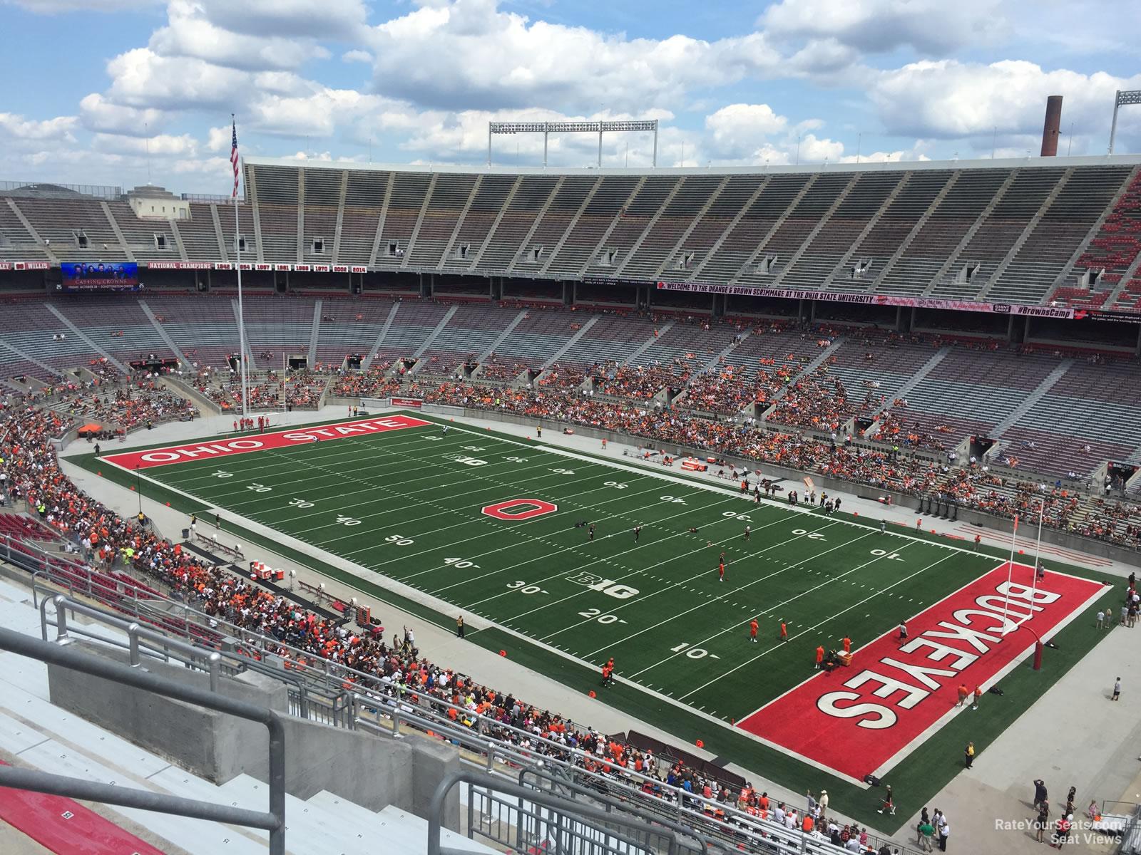 Ohio Stadium Section 29c Rateyourseatscom
