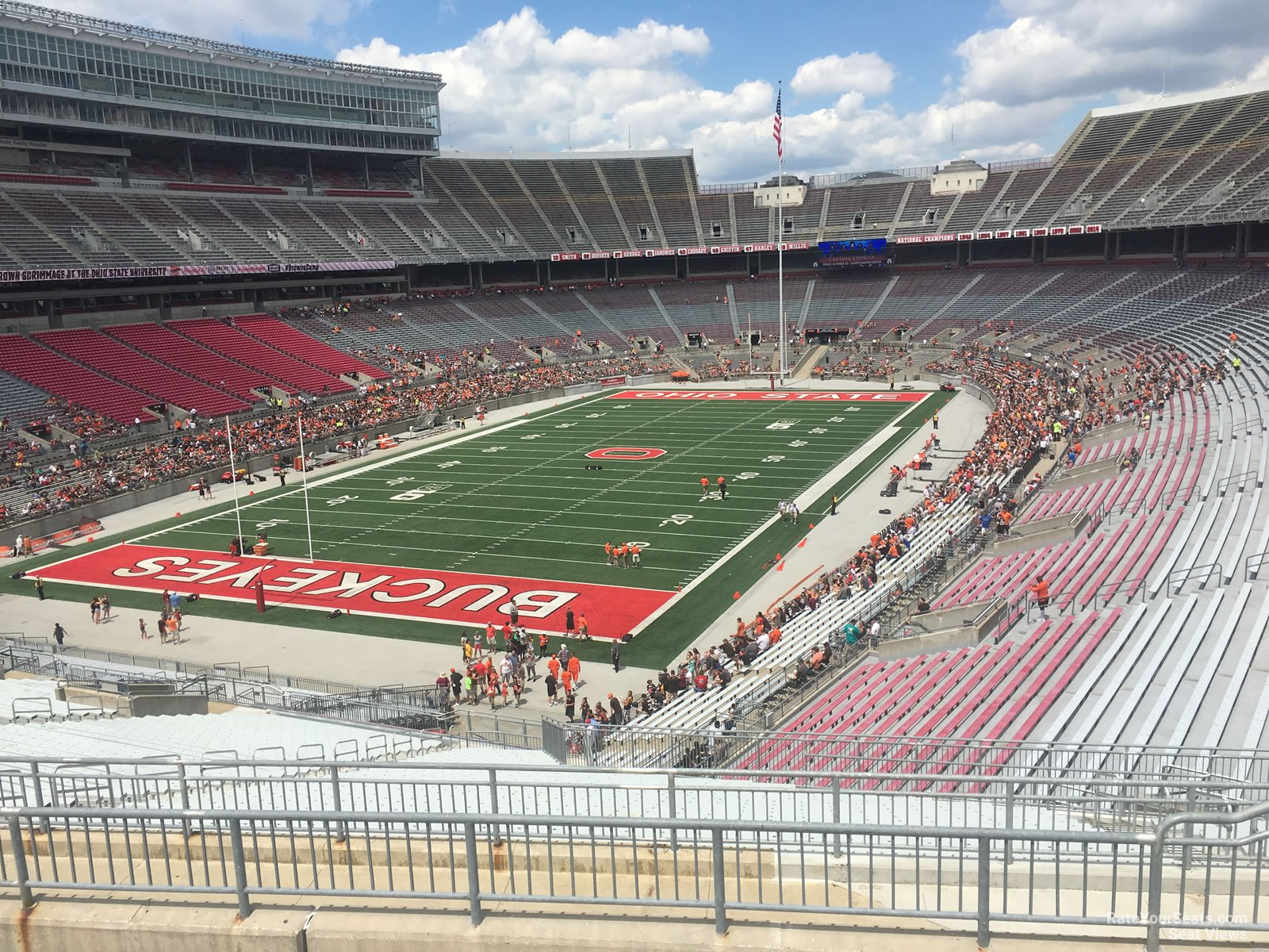 Ohio Stadium Section 34b Rateyourseatscom
