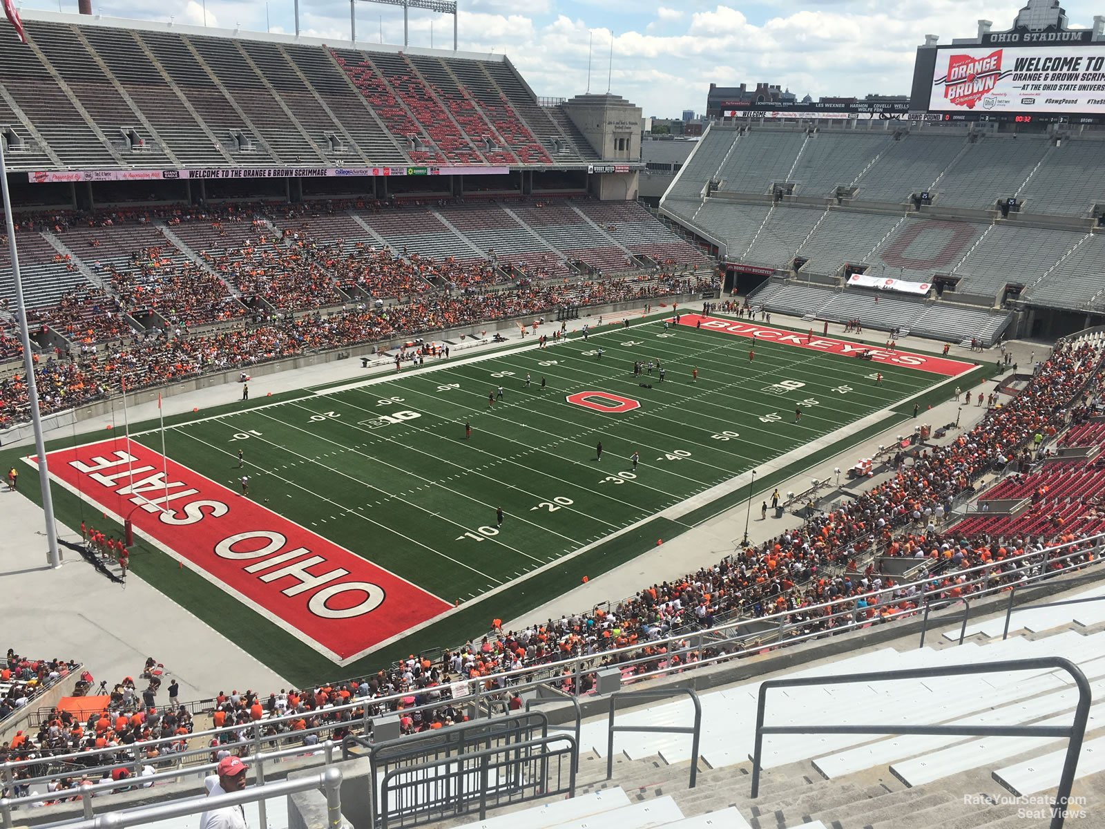 Ohio Stadium Section 9c Rateyourseatscom