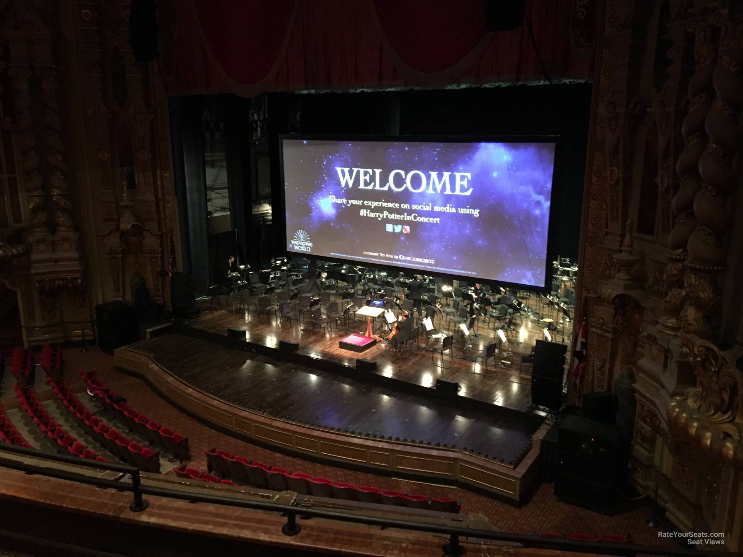 Loge A At Ohio Theatre Rateyourseats Com