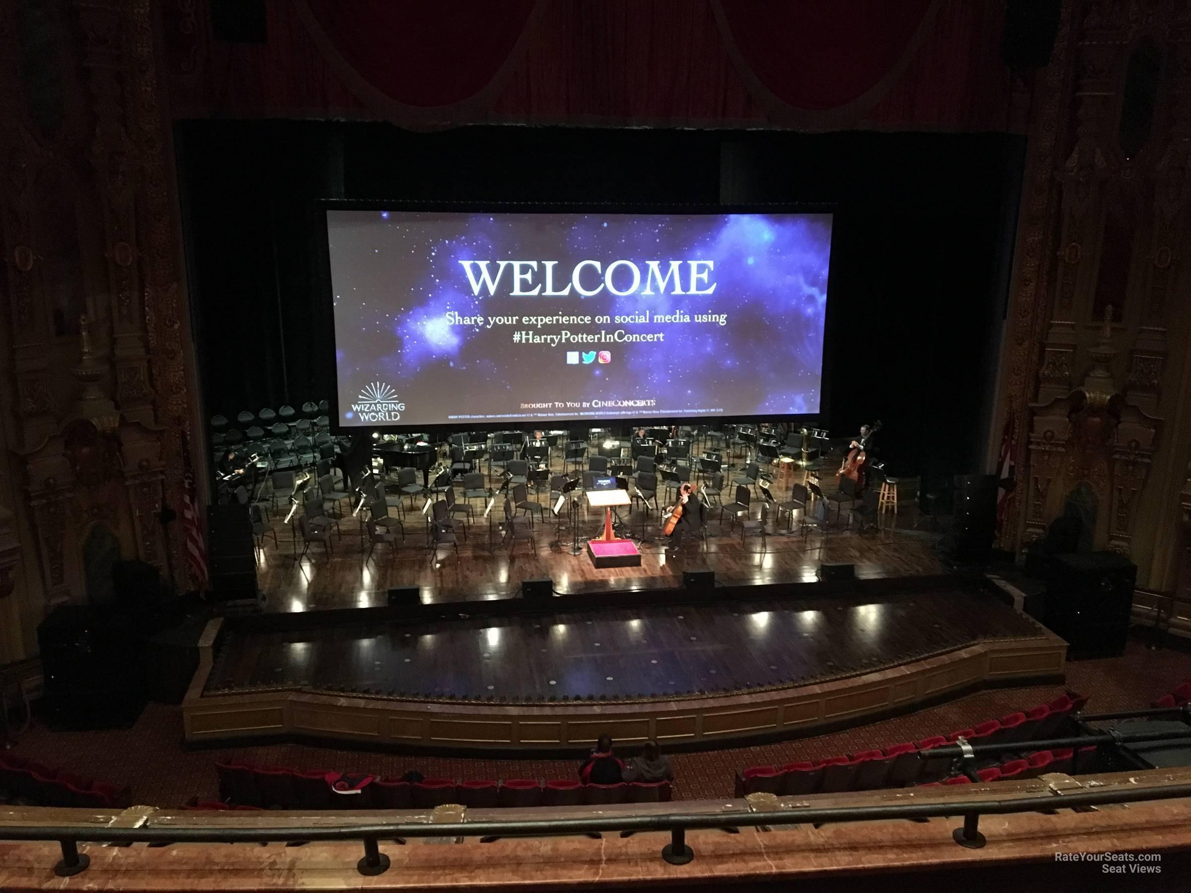 Loge C At Ohio Theatre Rateyourseats Com