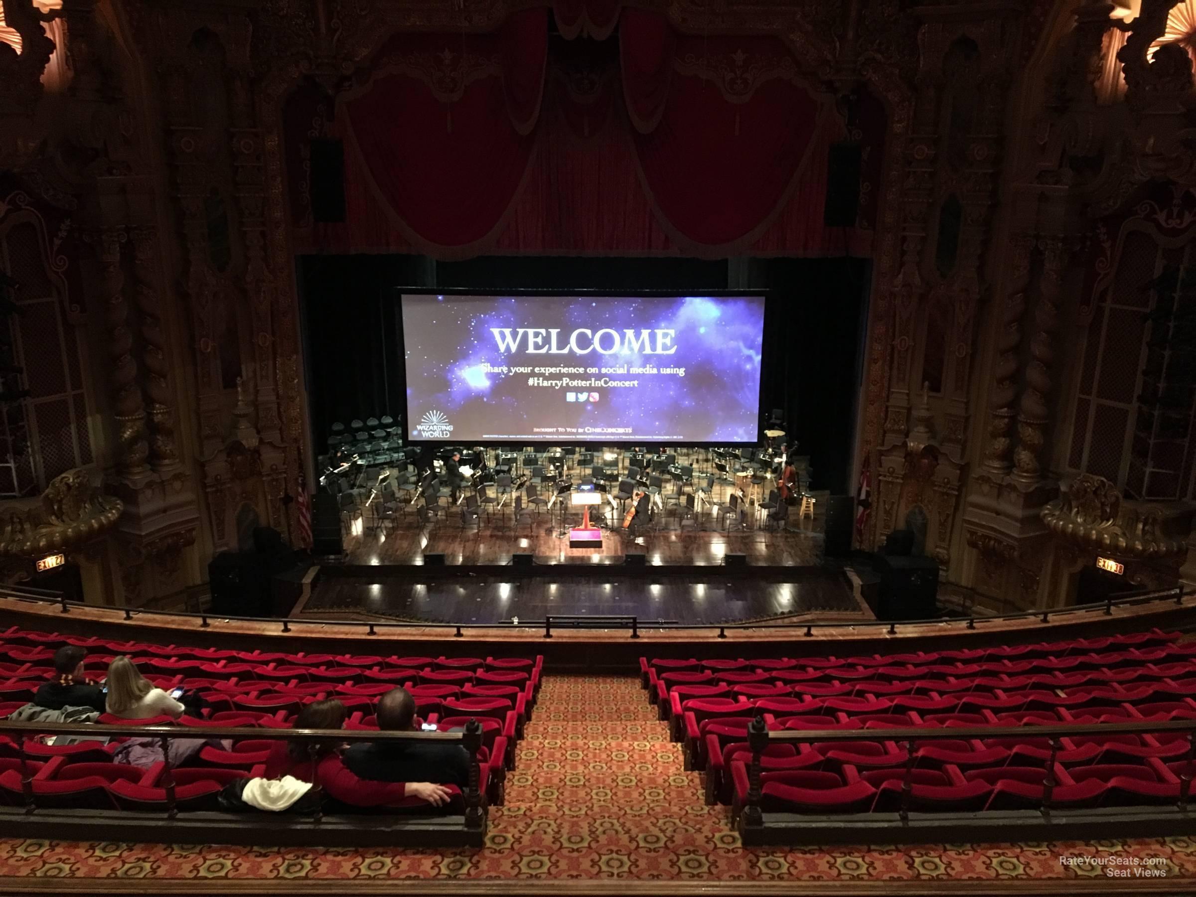 Mezzanine C At Ohio Theatre Rateyourseats Com