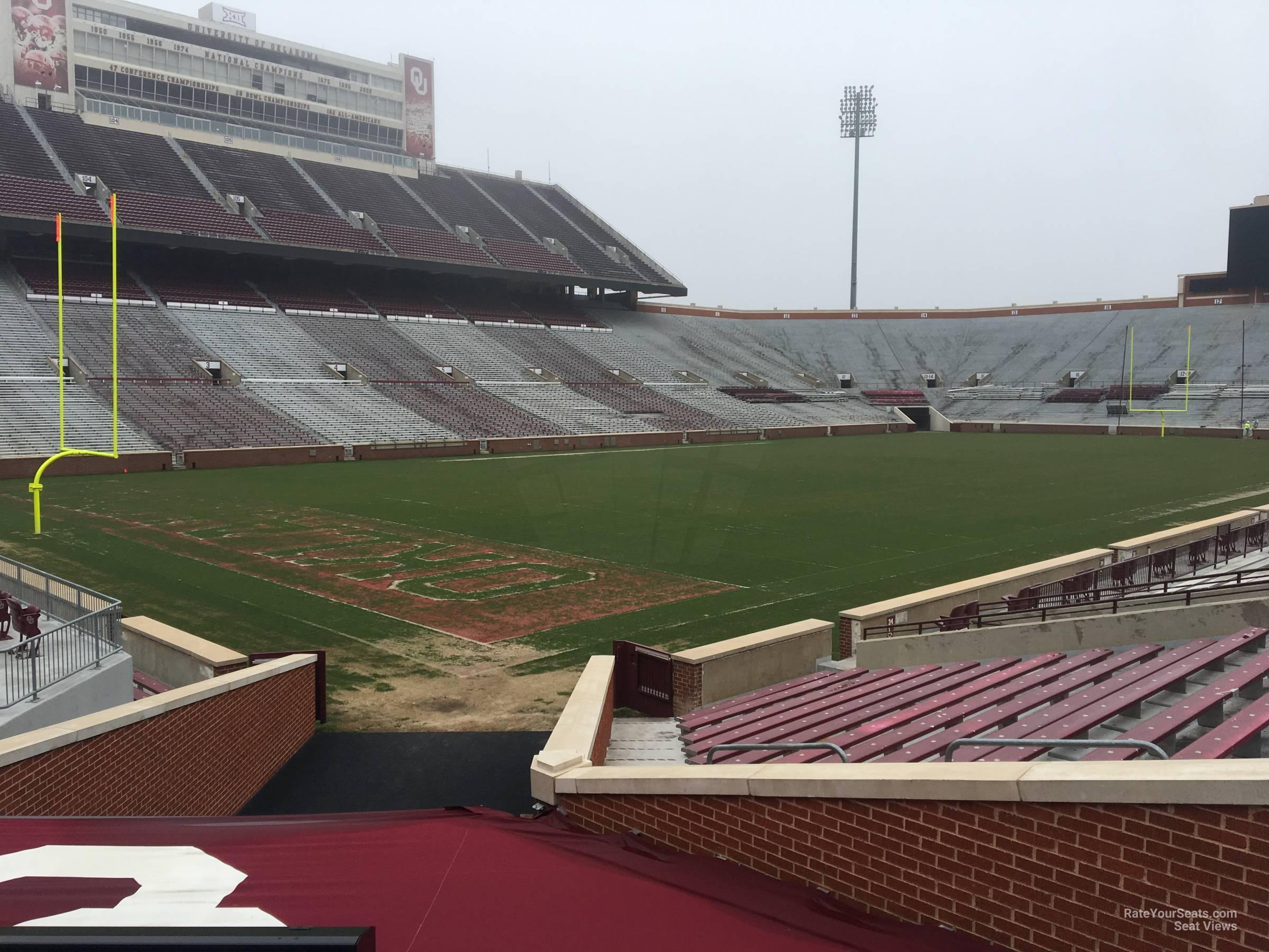 Section 36 At Oklahoma Memorial Stadium Rateyourseats Com