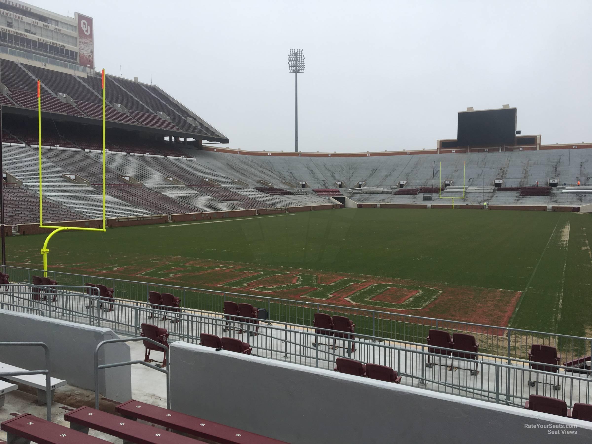 Section 42 At Oklahoma Memorial Stadium Rateyourseats Com