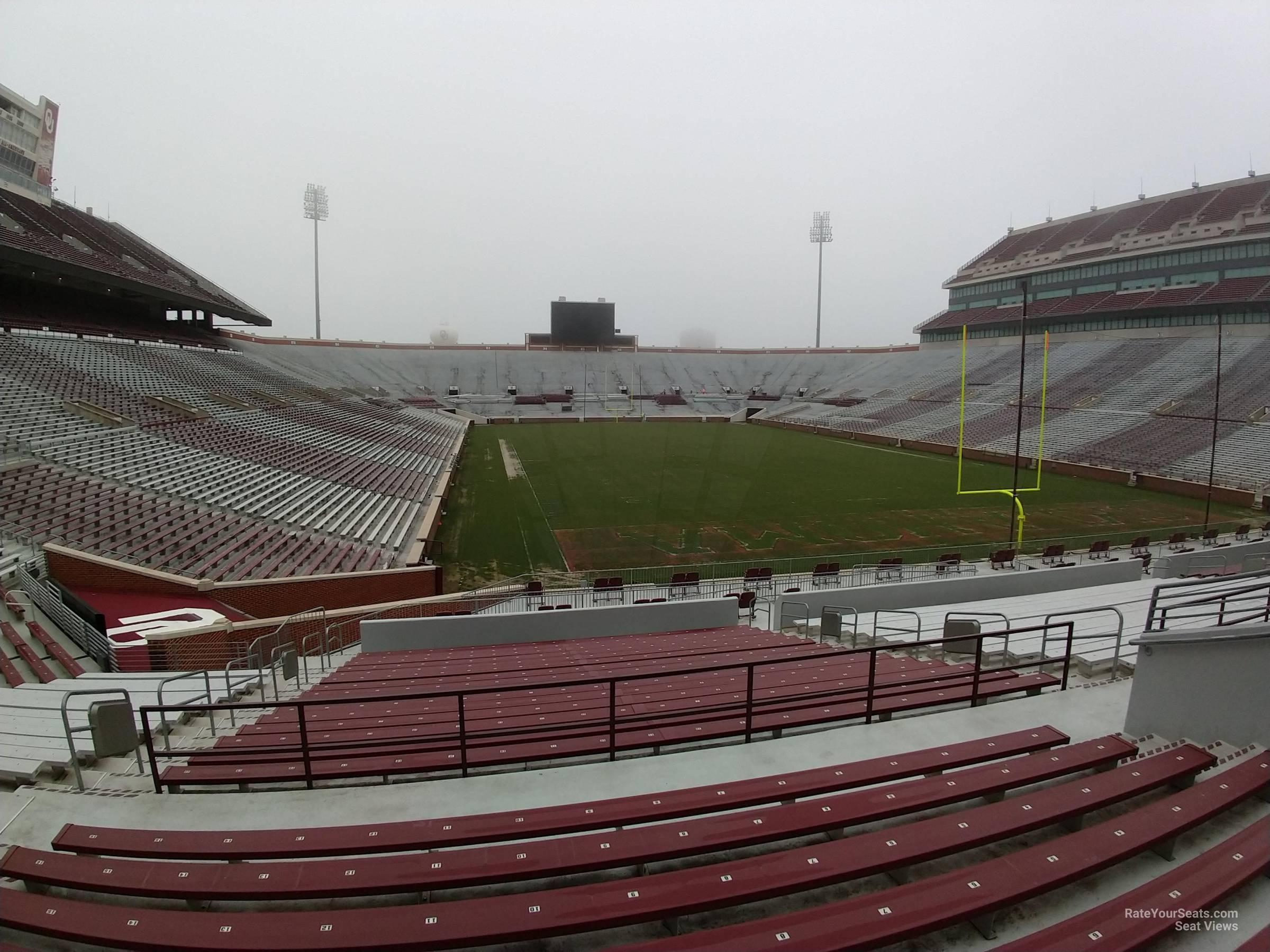 Section 46 At Oklahoma Memorial Stadium Rateyourseats Com