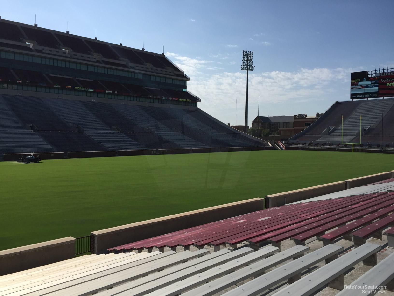 Section 10 At Oklahoma Memorial Stadium Rateyourseats Com