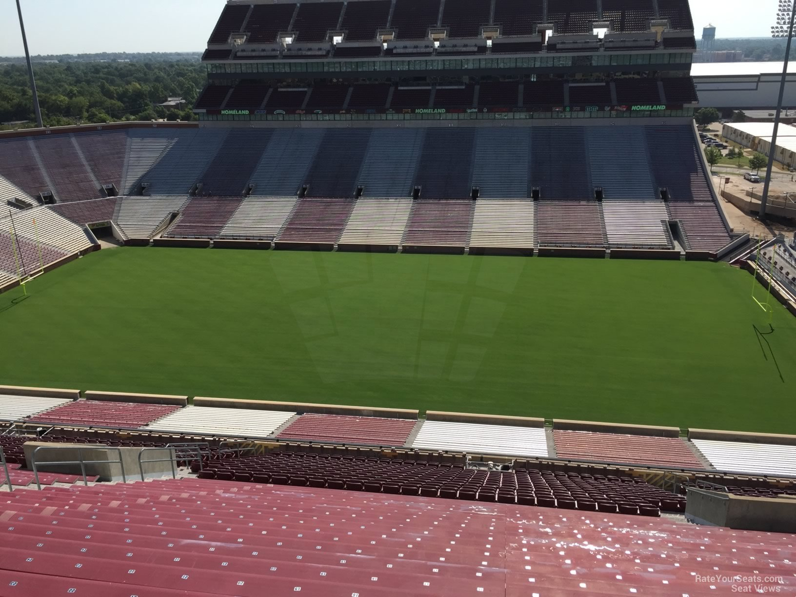 Section 104 At Oklahoma Memorial Stadium Rateyourseats Com