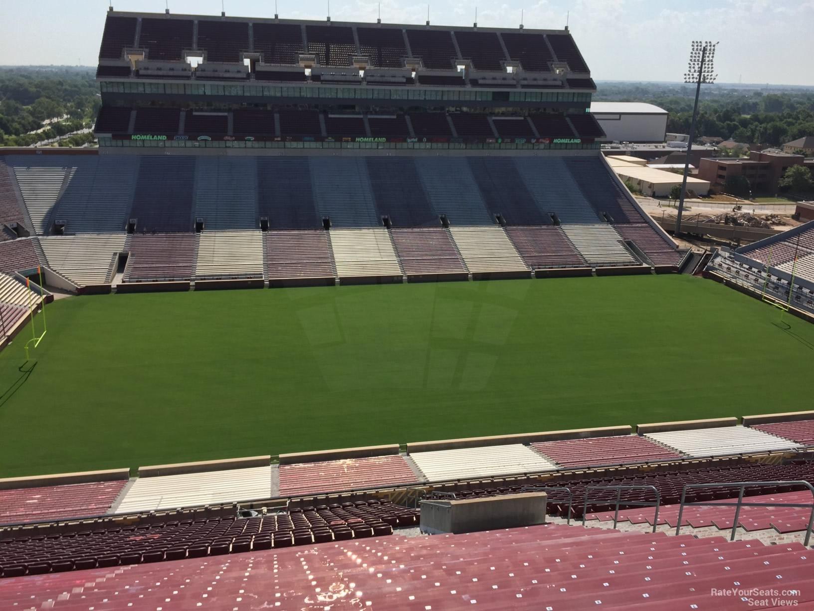 Section 108 At Oklahoma Memorial Stadium Rateyourseats Com