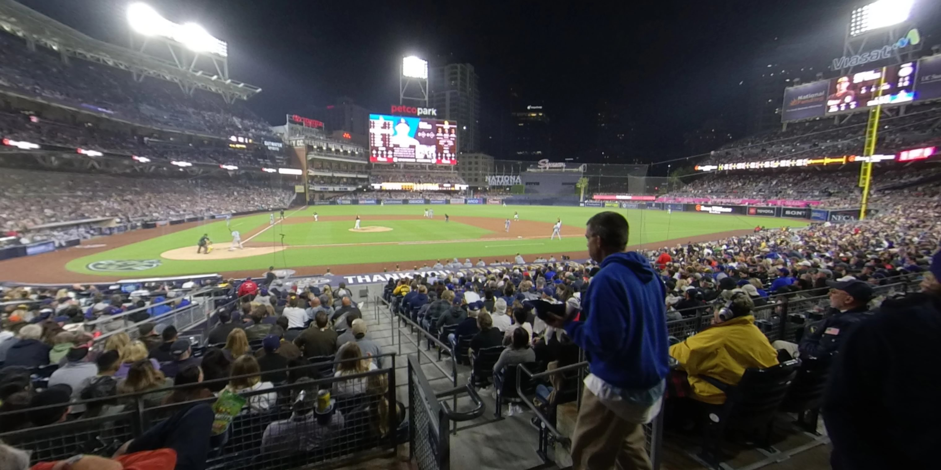 360° Photo From PETCO Park Section 107