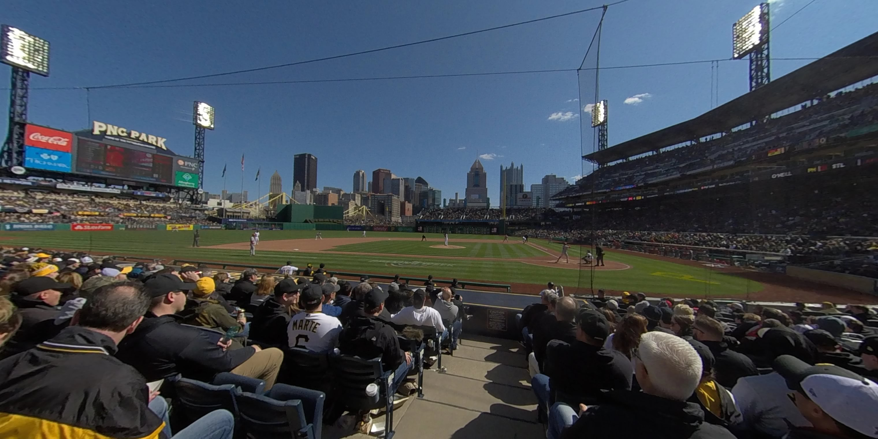 360° Photo From PNC Park Section 22