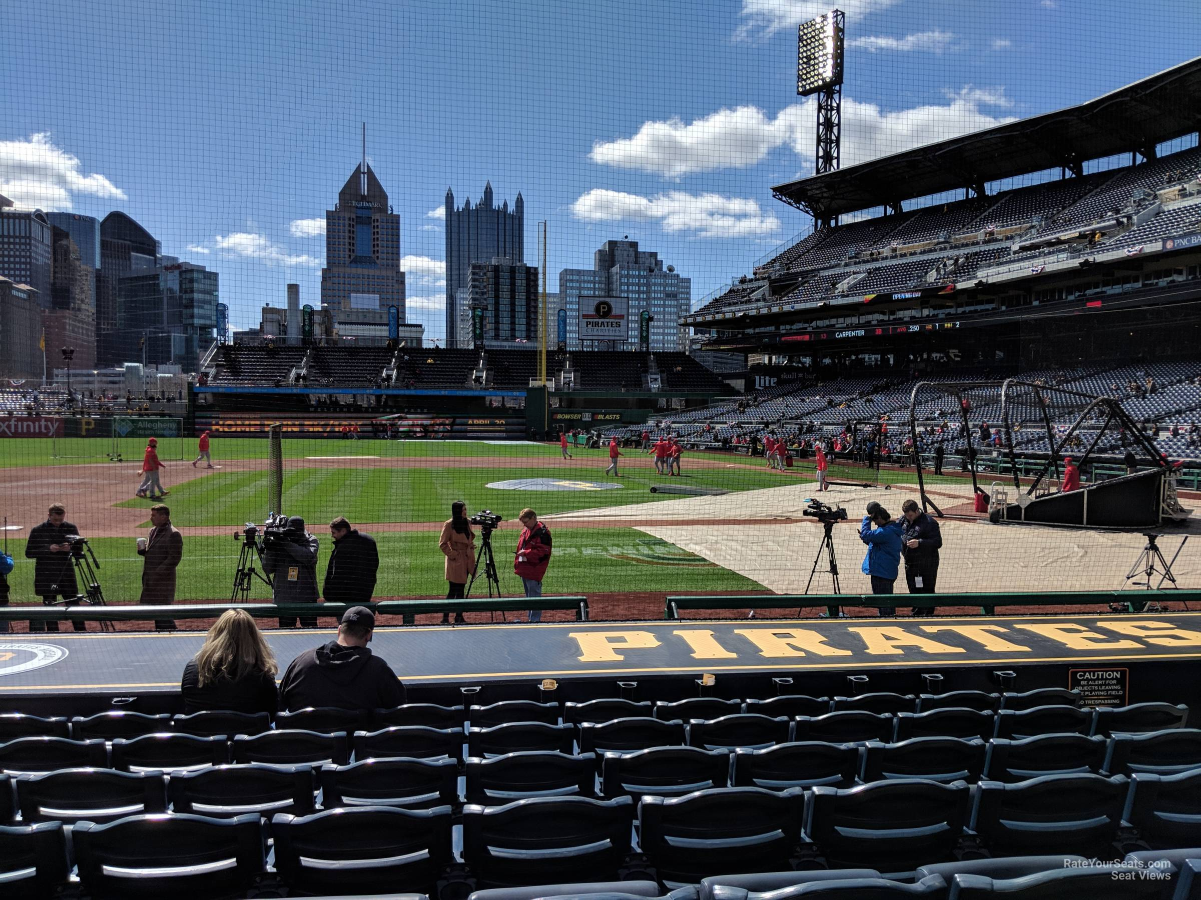 Seat View for PNC Park Section 22, Row M
