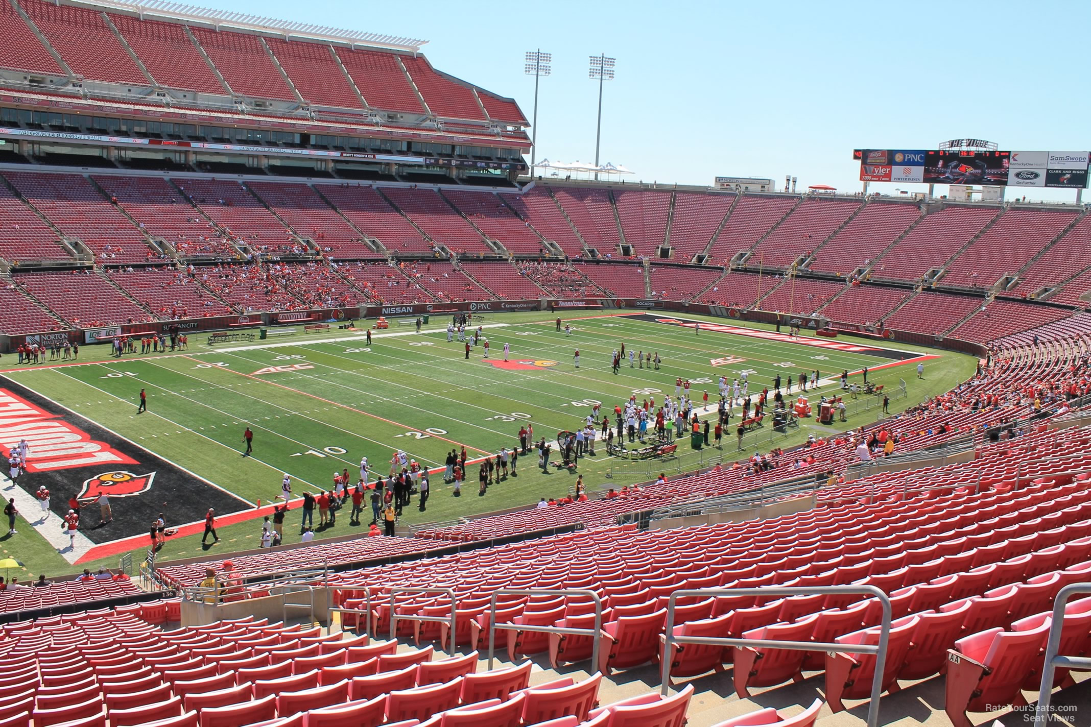 Cardinal Stadium Section 236 Rateyourseatscom