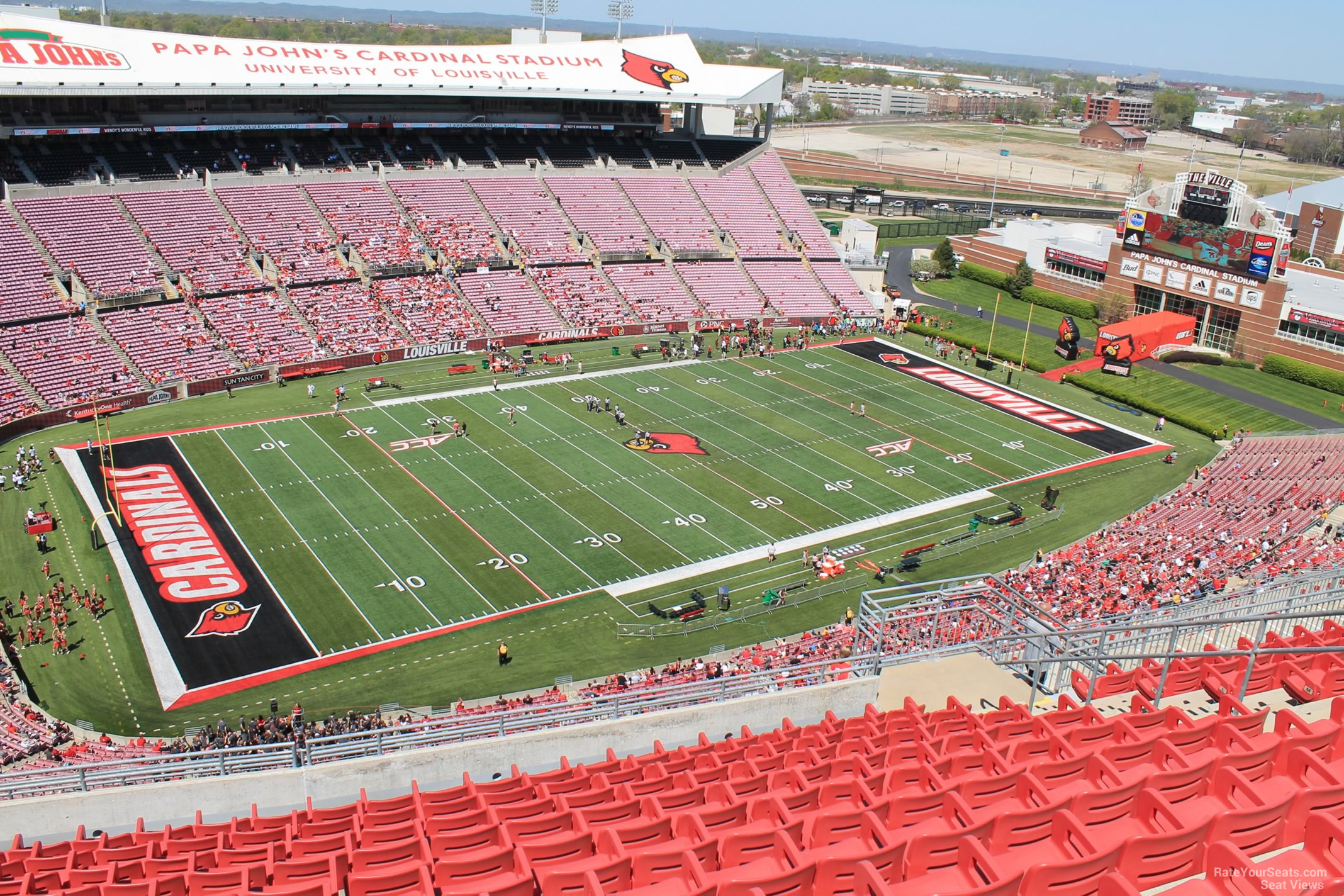 Cardinal Stadium Section 311 Rateyourseatscom
