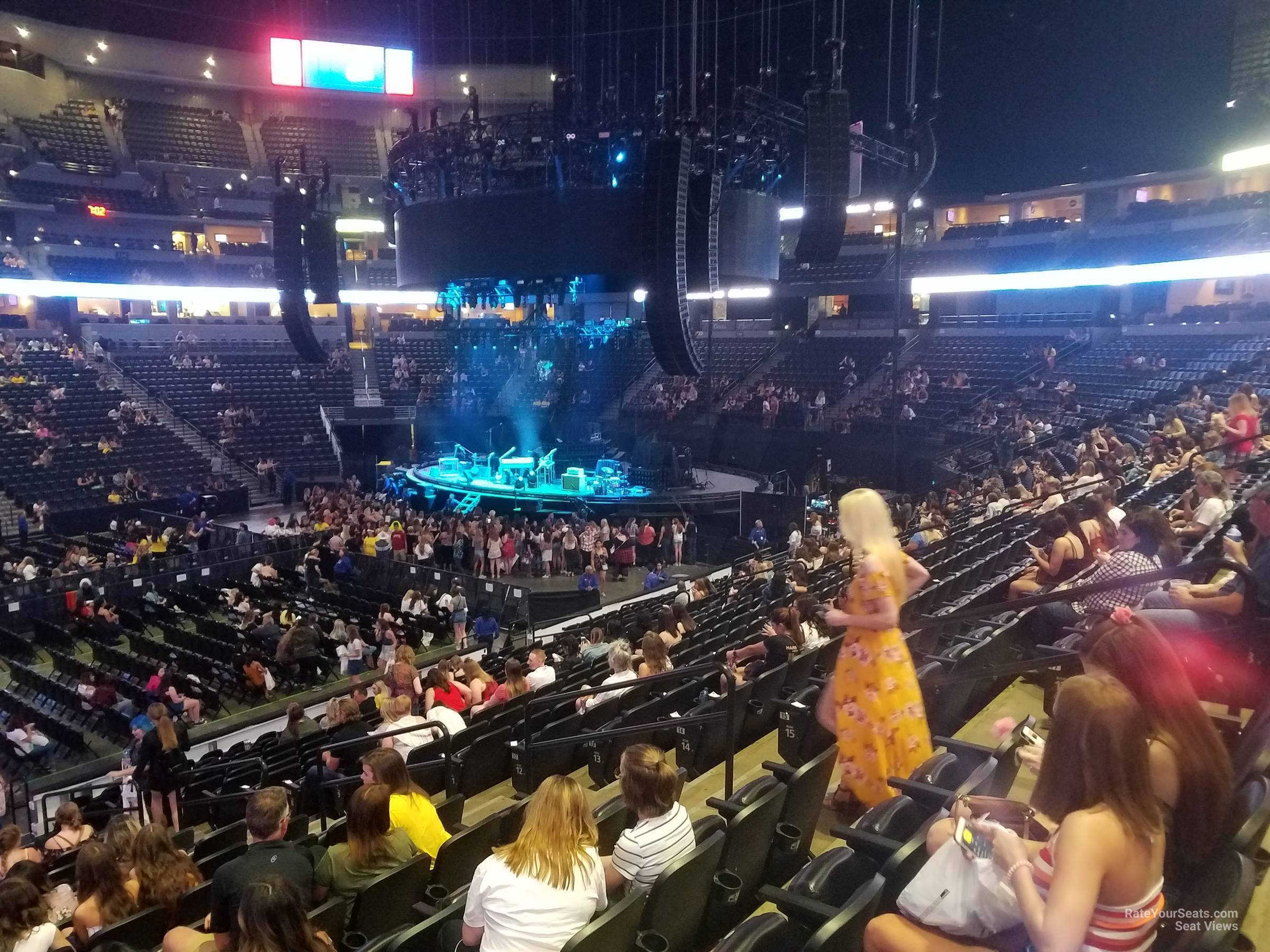 Pepsi Center Section 102 Concert Seating Rateyourseatscom