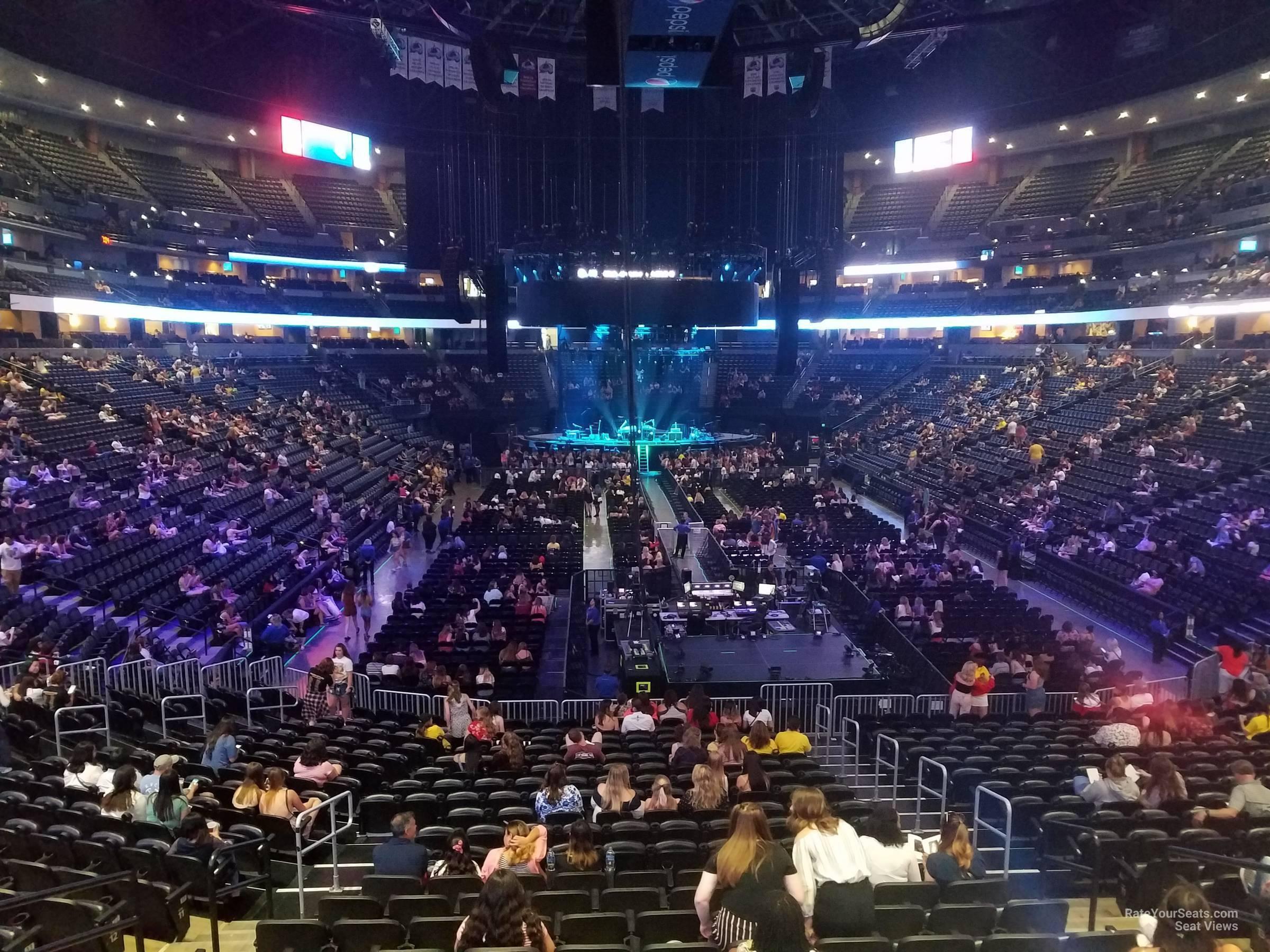 Pepsi Center Section 114 Concert Seating Rateyourseatscom