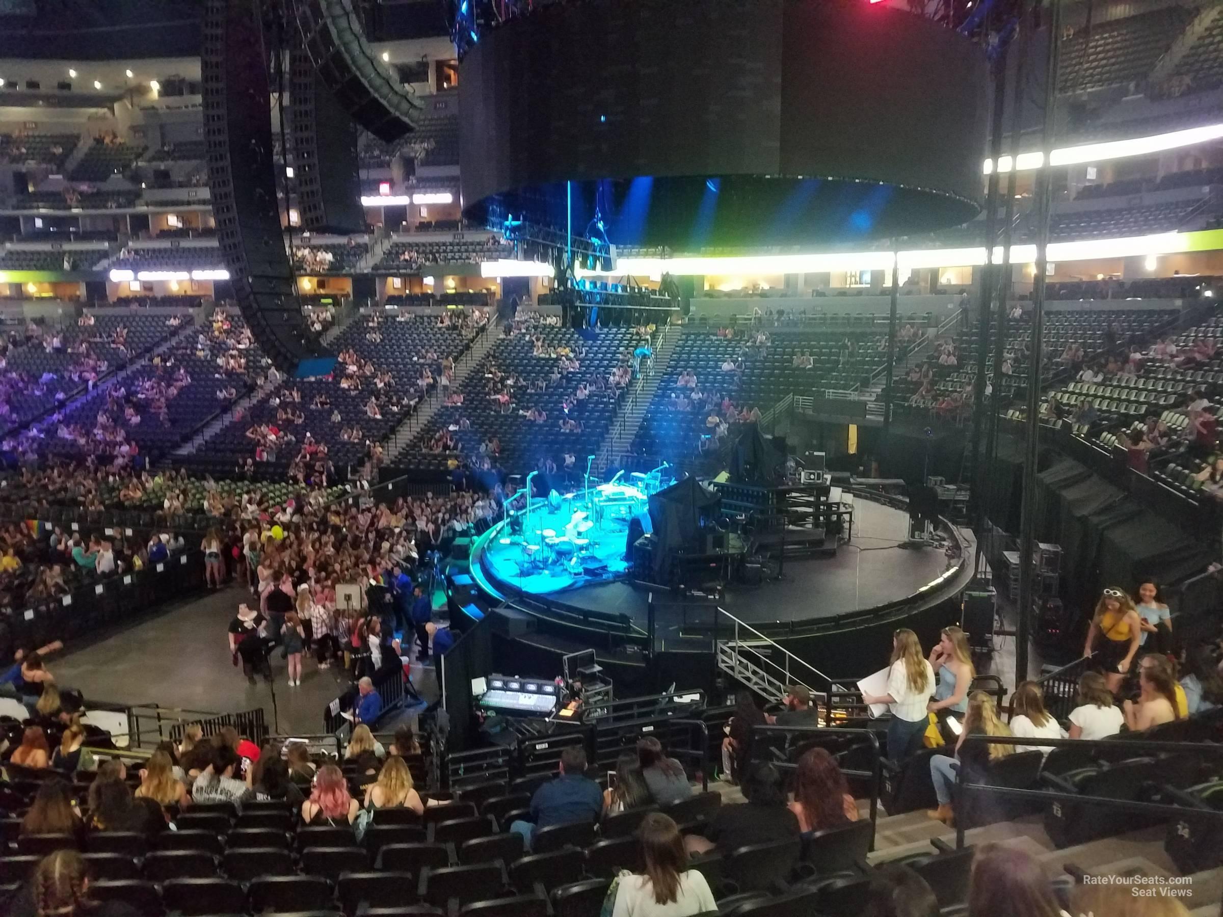 Pepsi Center Section 144 Concert Seating Rateyourseatscom
