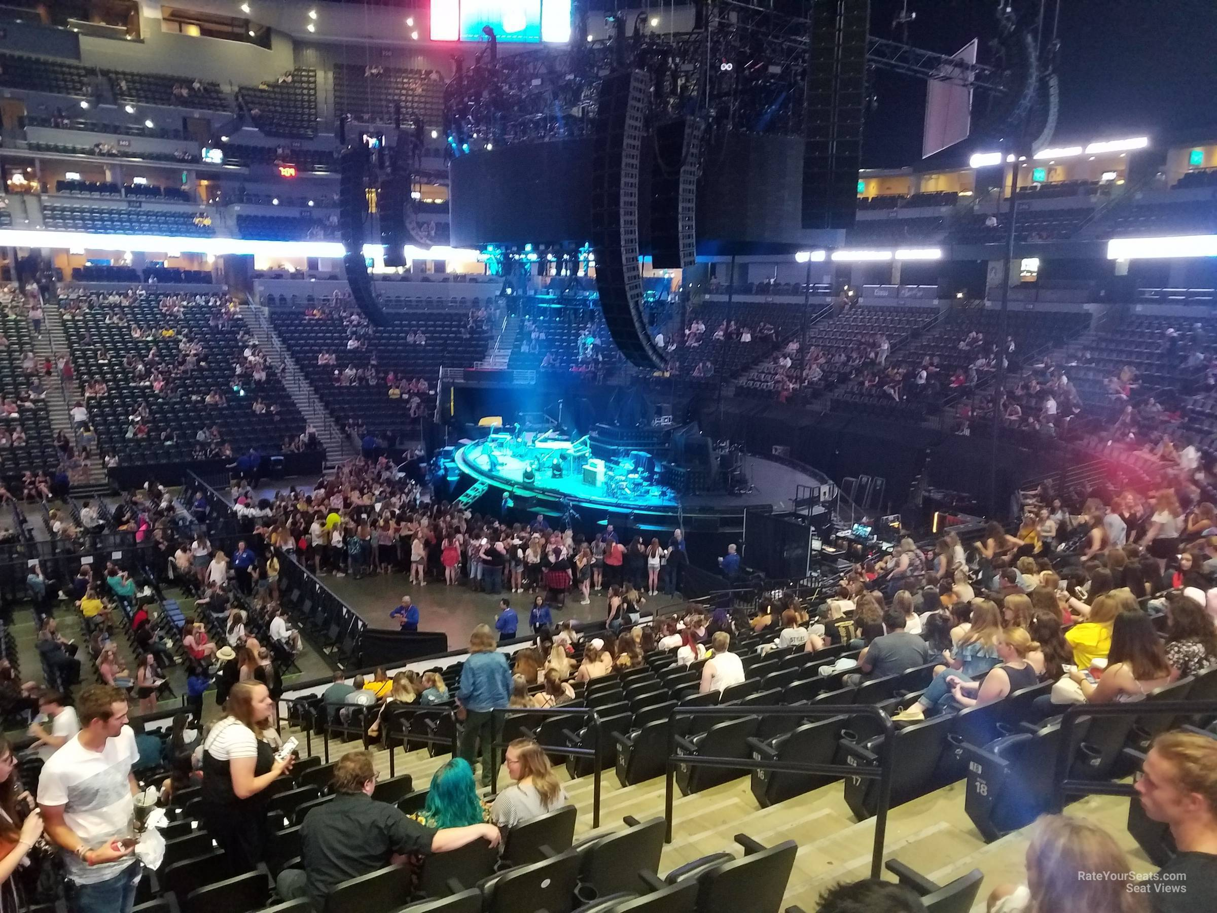 Pepsi Center Section 148 Concert Seating Rateyourseatscom