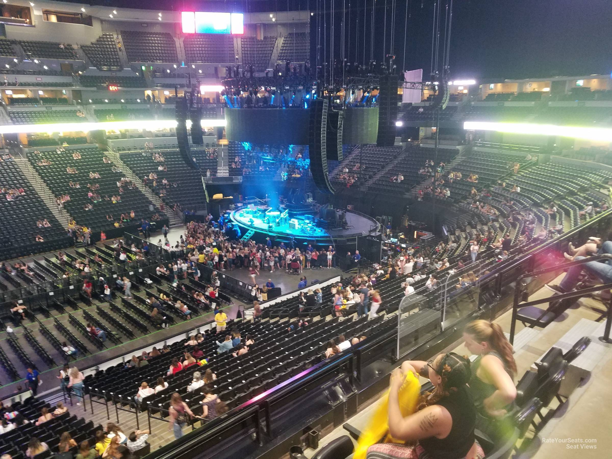 Pepsi Center Section 202 Concert Seating Rateyourseatscom