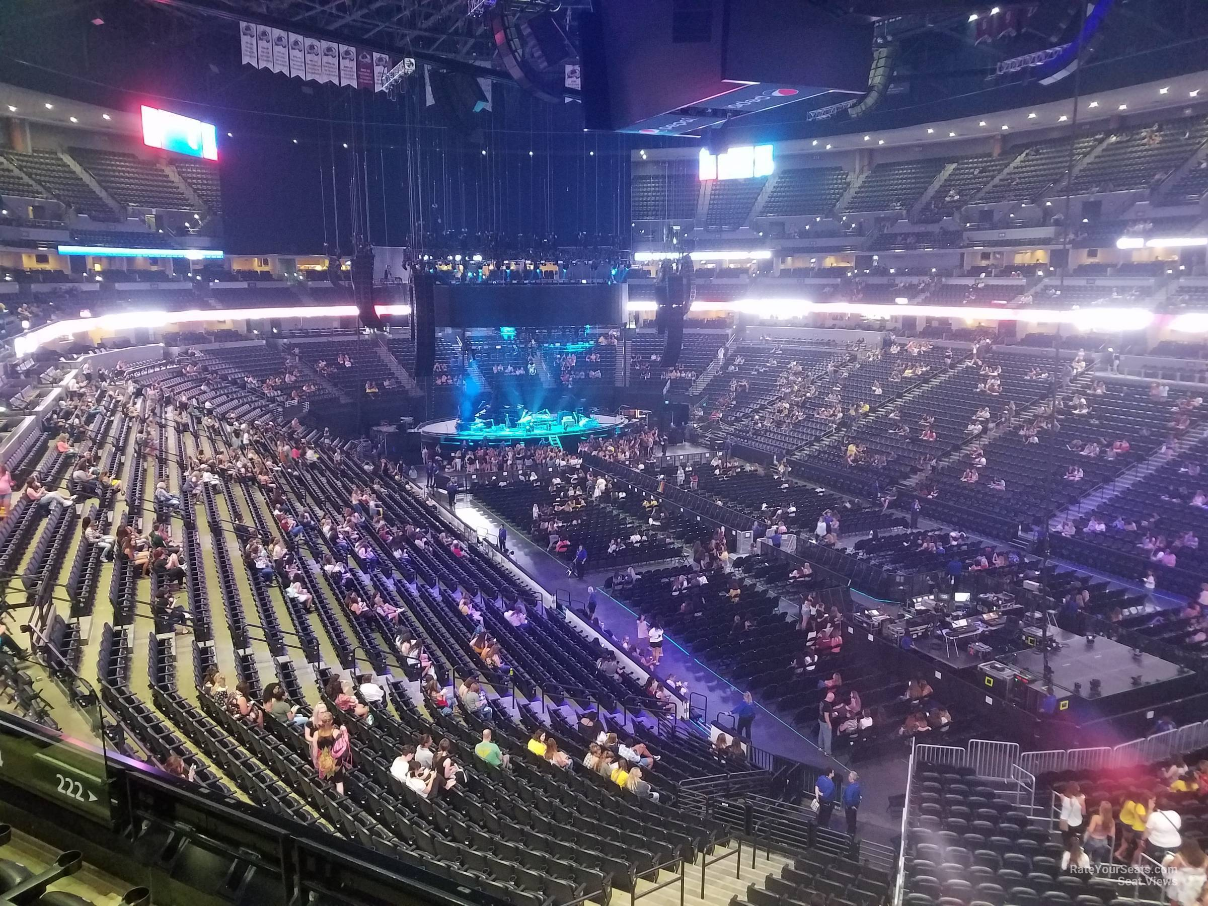 Section 222 At Pepsi Center For Concerts Rateyourseats Com