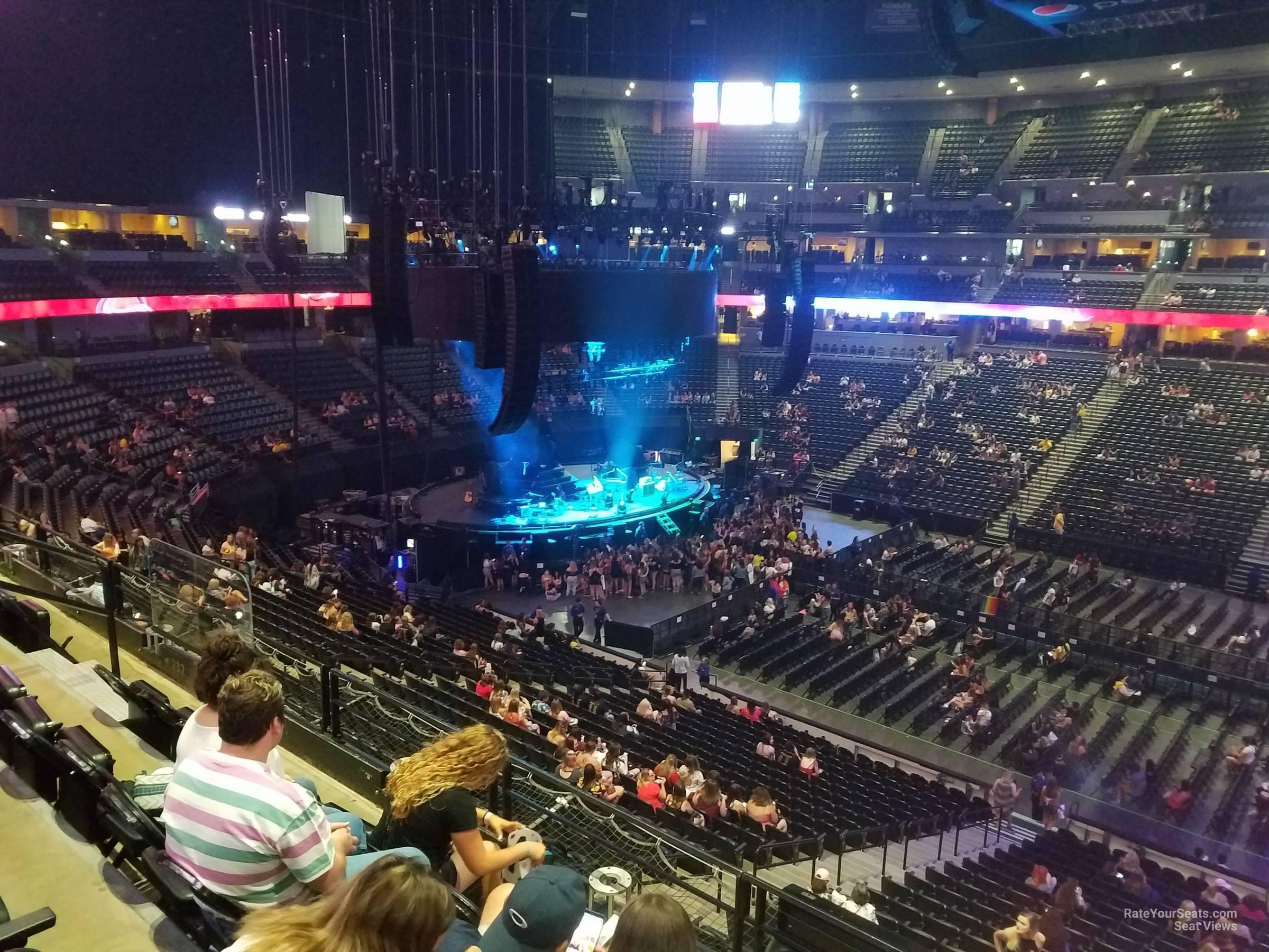 Pepsi Center Section 230 Concert Seating Rateyourseatscom