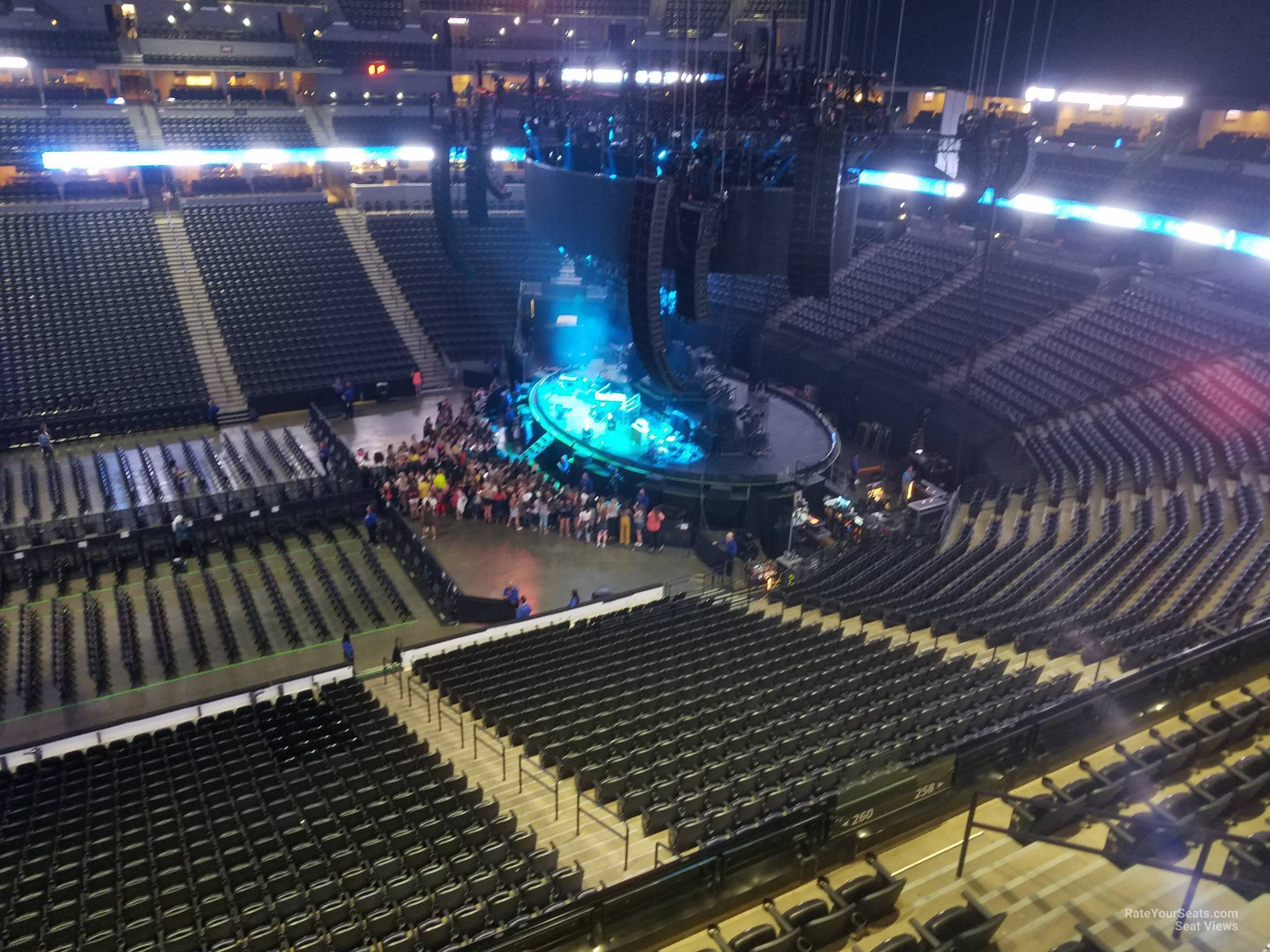 Pepsi Center Section 301 Concert Seating Rateyourseatscom