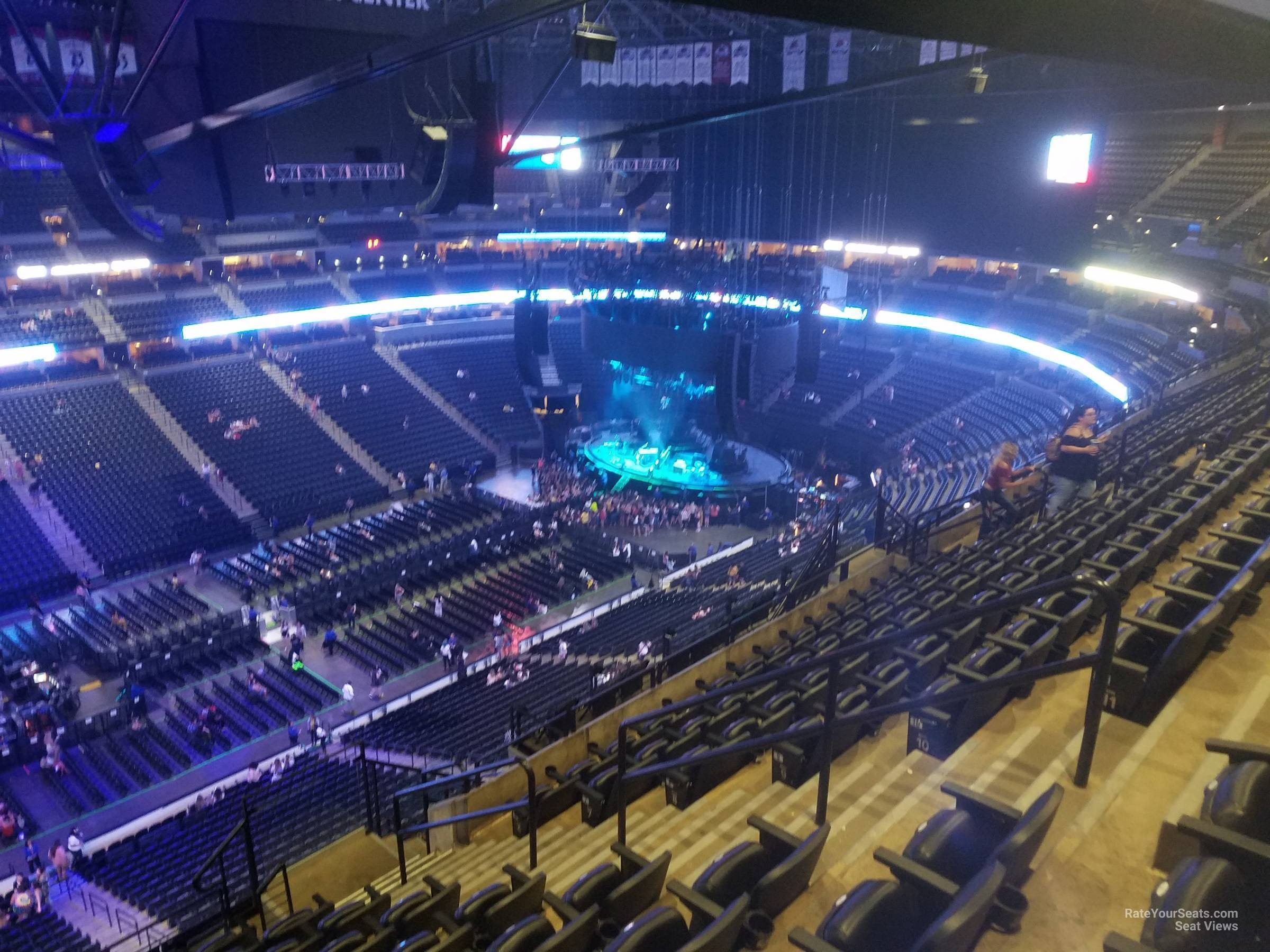 Section 308 At Pepsi Center For Concerts Rateyourseats Com