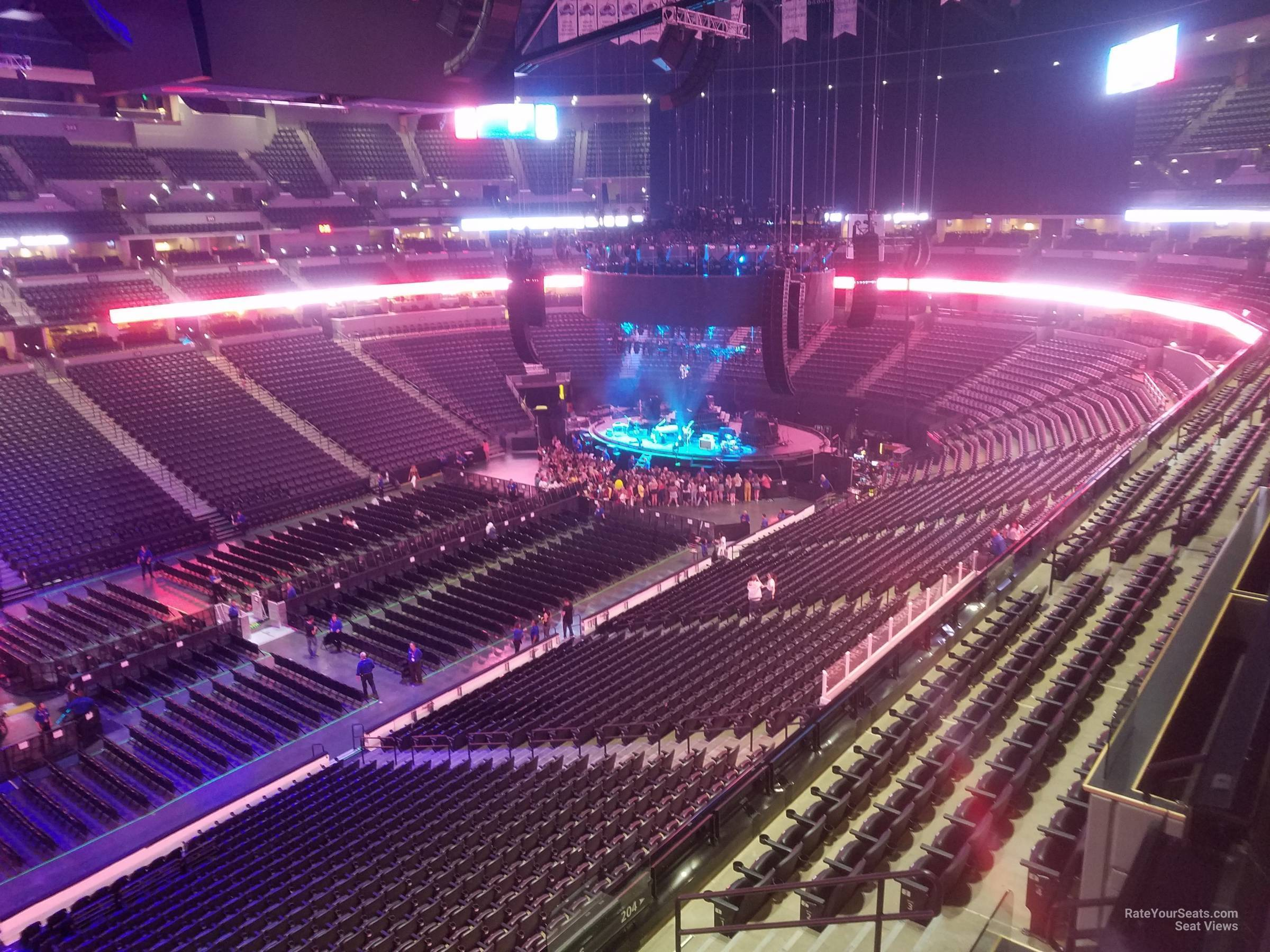 Section 309 At Pepsi Center For Concerts Rateyourseats Com