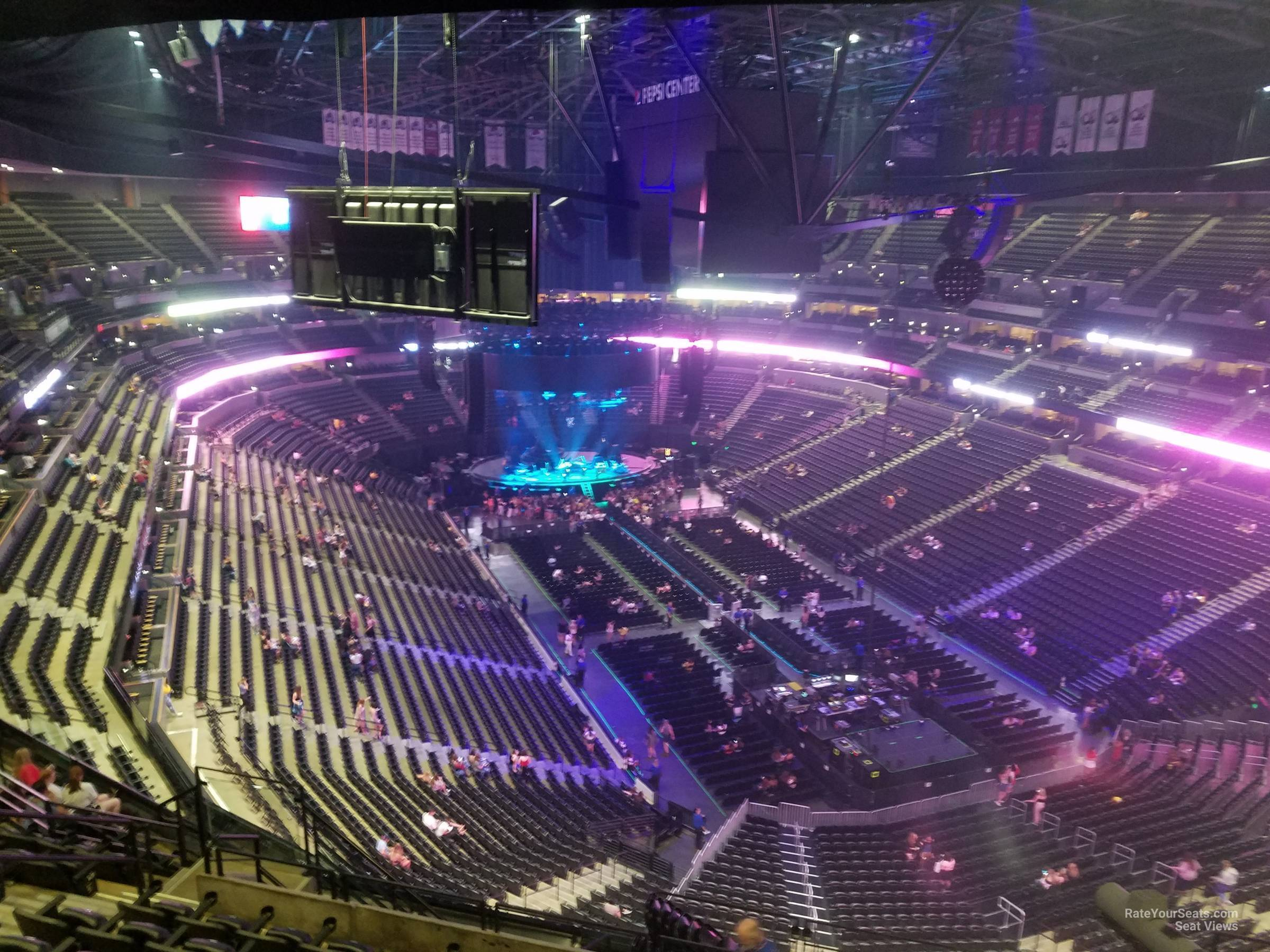 Section 328 At Pepsi Center For Concerts Rateyourseats Com